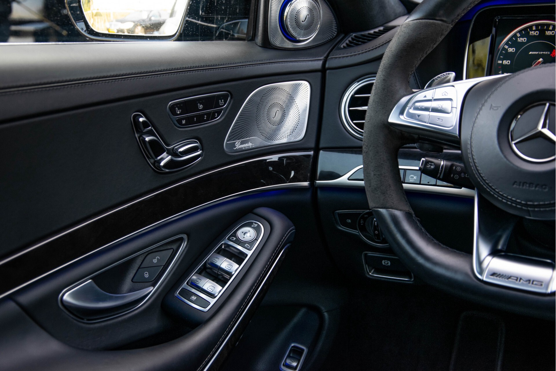 Mercedes-Benz S-Klasse 63 AMG Exclusive/Burmester High-End/Driverspack Aut7 Foto 60