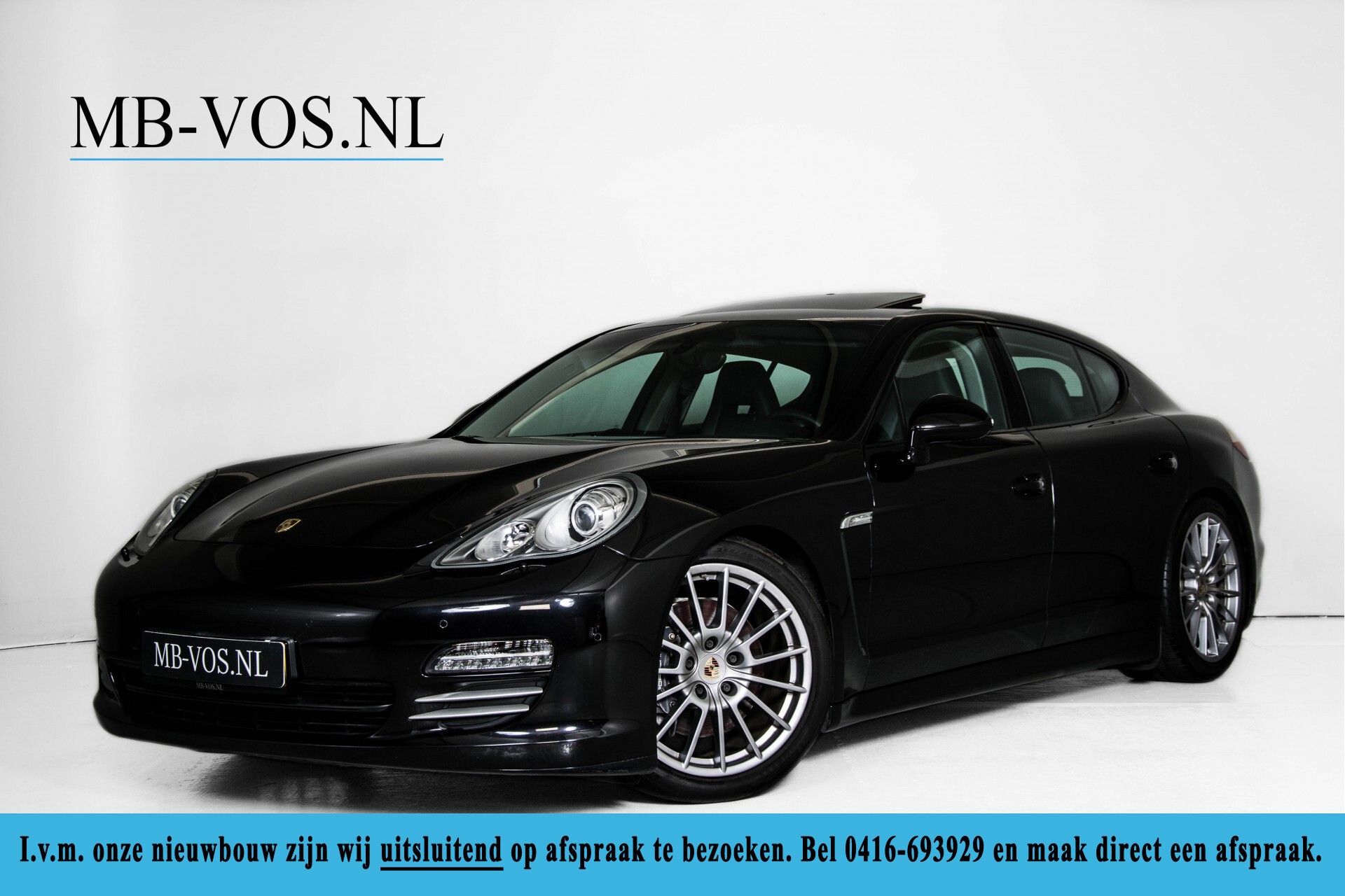 Porsche Panamera 3.6 4 Sportchrono/Luchtvering/Dak/Nappa/Aut7 Foto 1