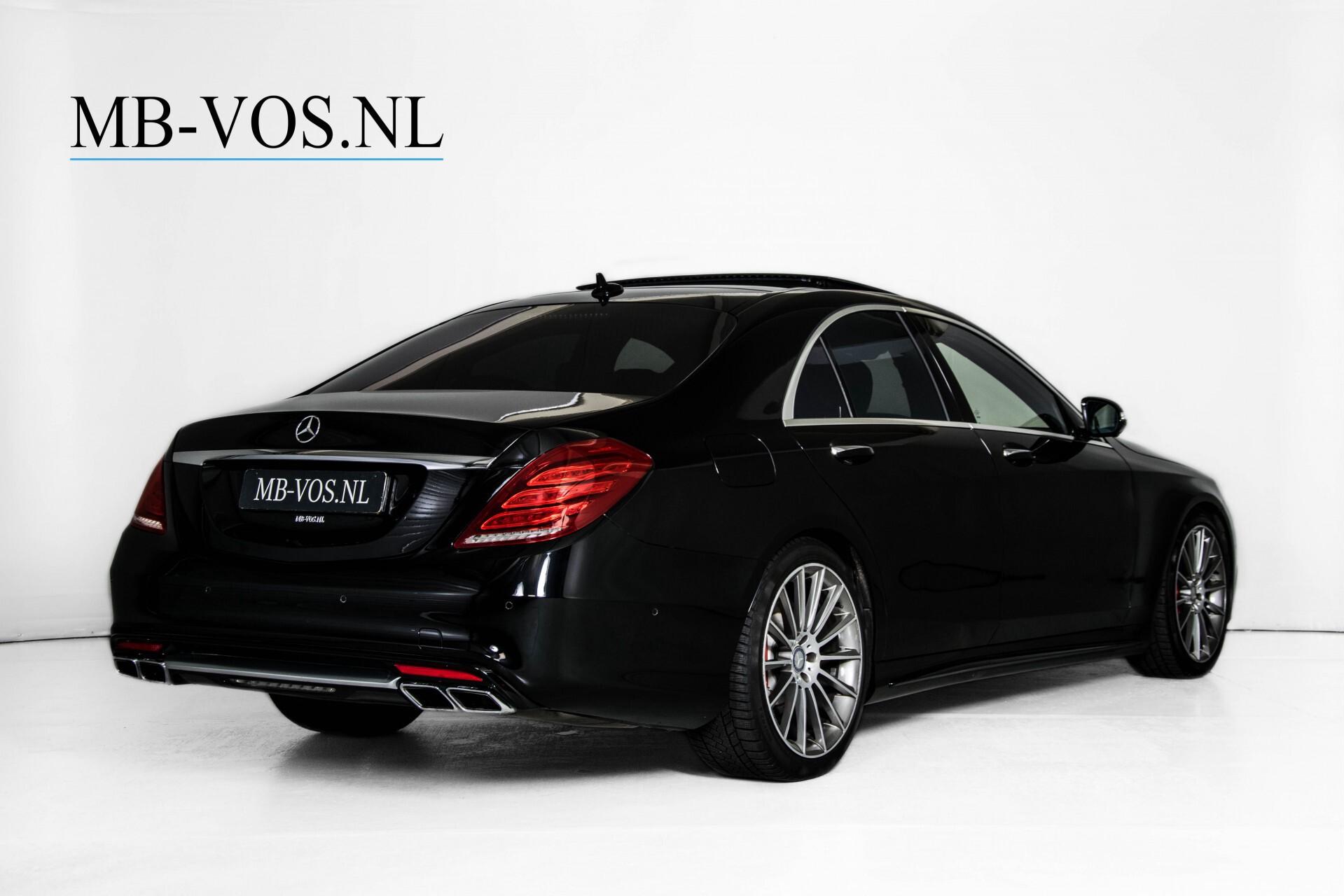 Mercedes-Benz S-Klasse 500 4-M AMG Panorama/Standkachel/Massage/Entertainment/TV Aut7 Foto 2