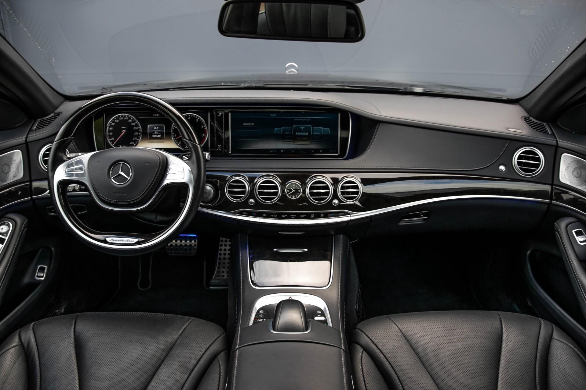Mercedes-Benz S-Klasse 500 4-M AMG Panorama/Standkachel/Massage/Entertainment/TV Aut7 Foto 8
