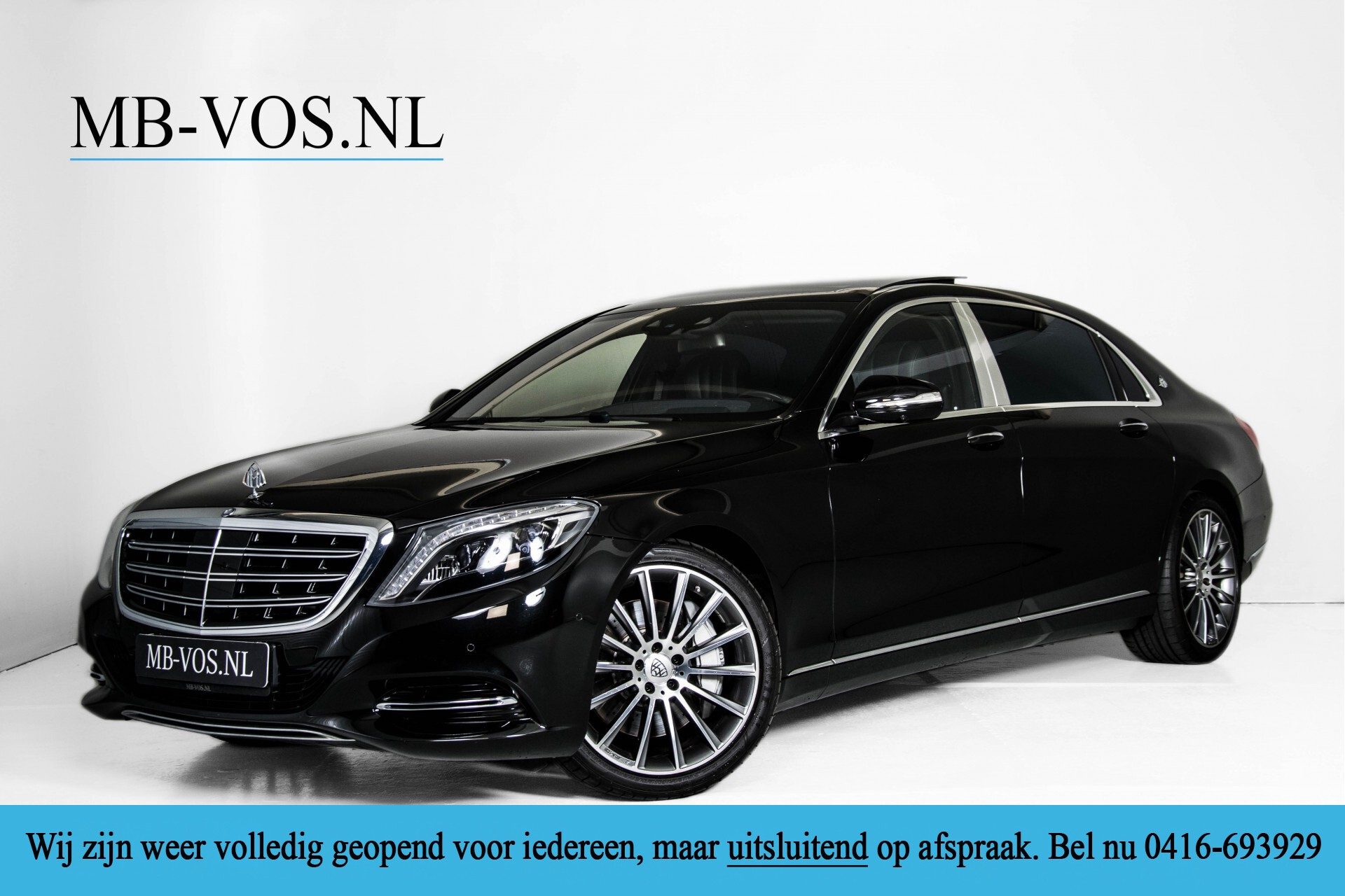 Mercedes-Benz S-Klasse 500 Maybach Exclusive Aut9 1ste eigenaar Foto 1