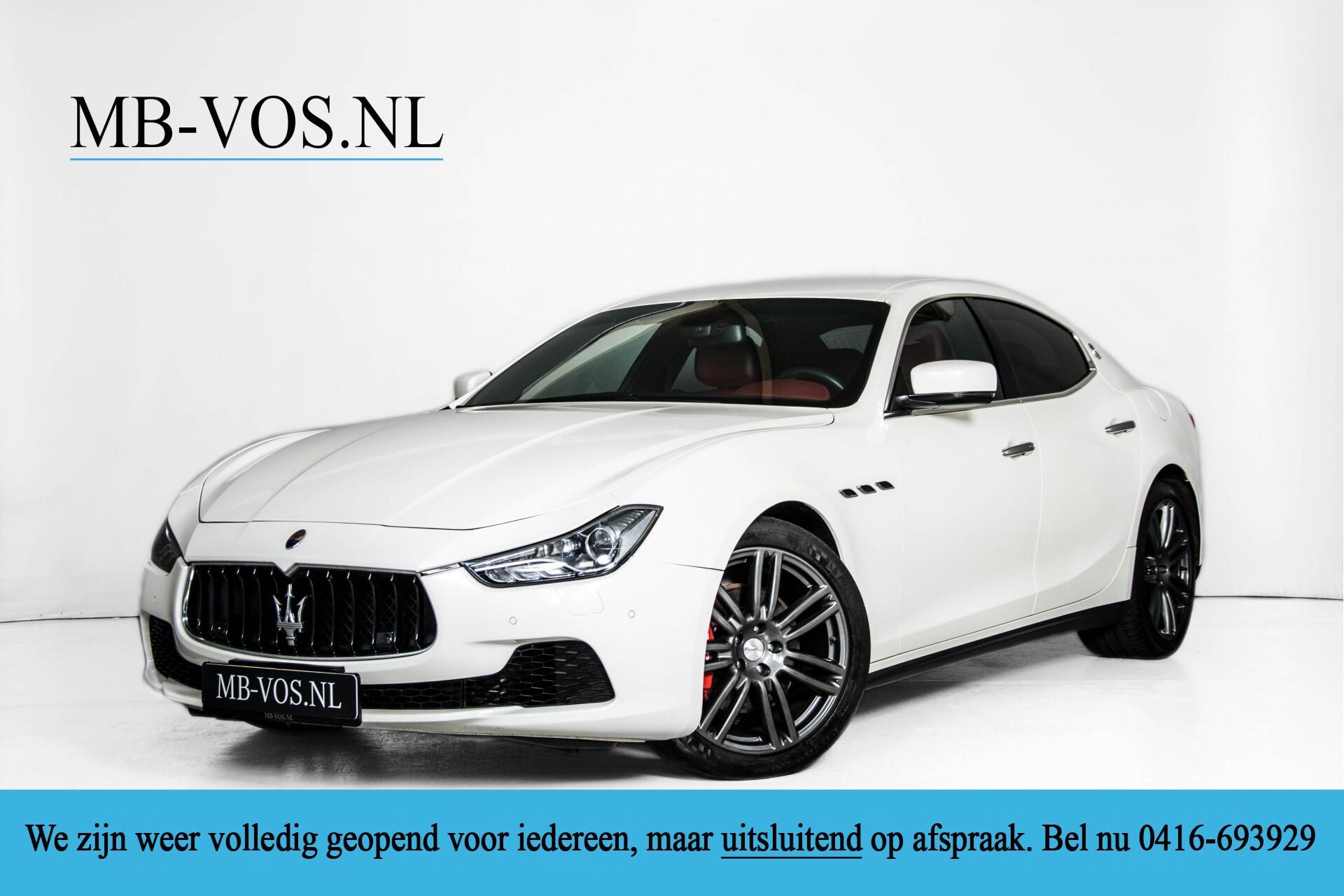 Maserati Ghibli 3.0d V6 20''/PremiumPack/Keyless/StoelV/Xenon/Navi Aut8 Foto 1
