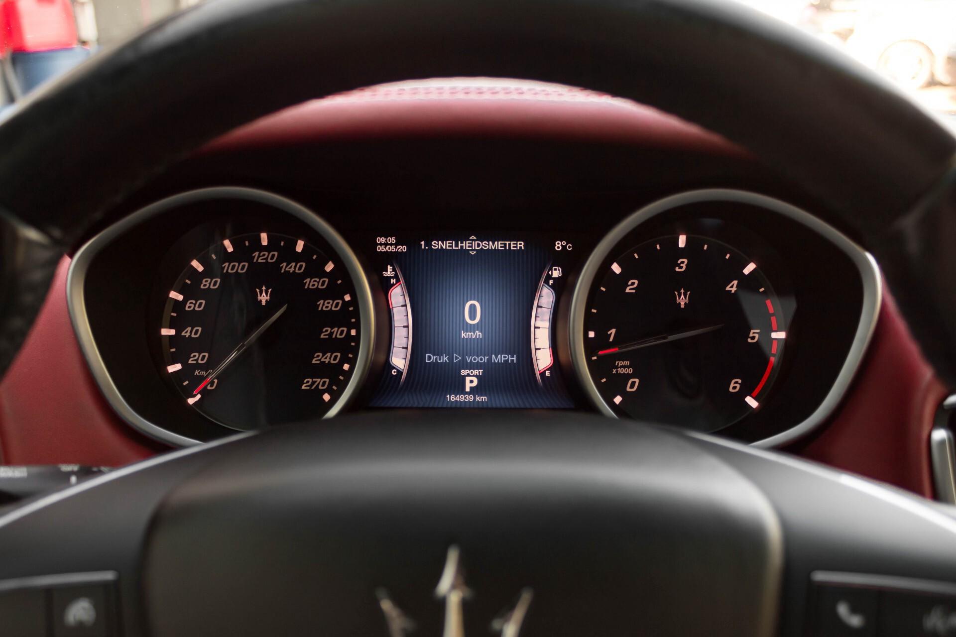 Maserati Ghibli 3.0d V6 20''/PremiumPack/Keyless/StoelV/Xenon/Navi Aut8 Foto 12