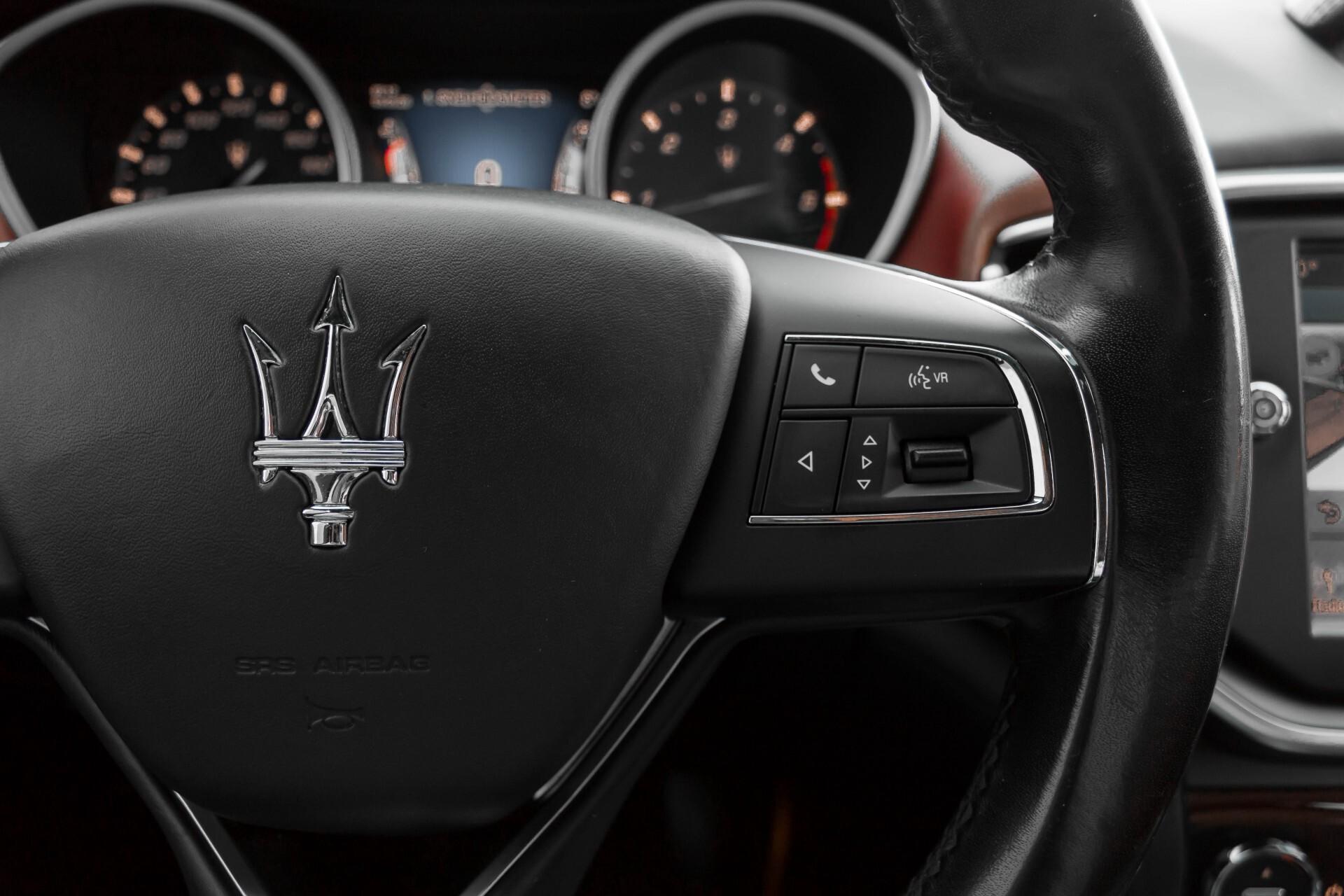 Maserati Ghibli 3.0d V6 20''/PremiumPack/Keyless/StoelV/Xenon/Navi Aut8 Foto 13