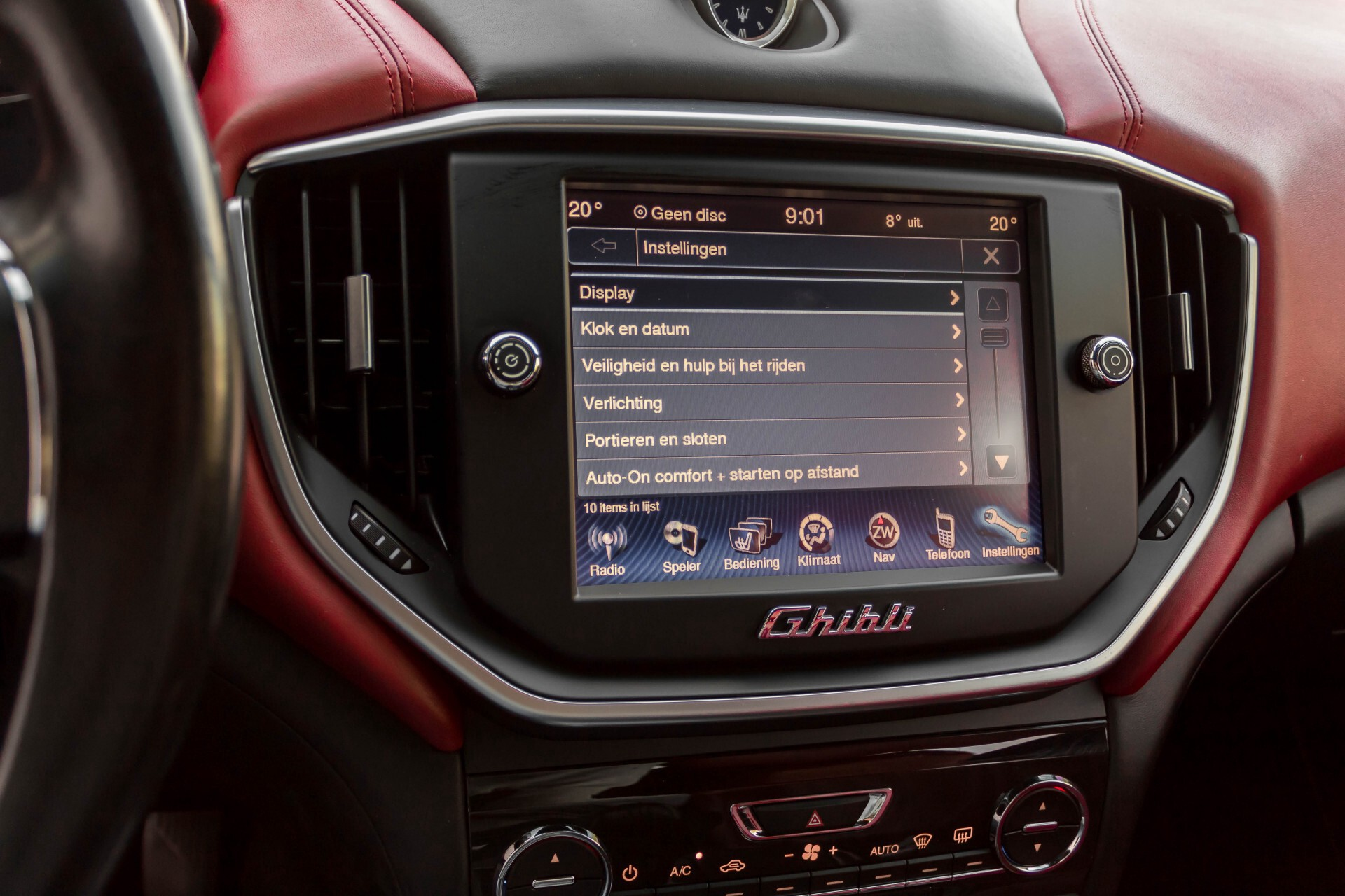 Maserati Ghibli 3.0d V6 Carbon/20''/Camera/PremiumPack/Keyless/Xenon/Navi Aut8 Foto 27