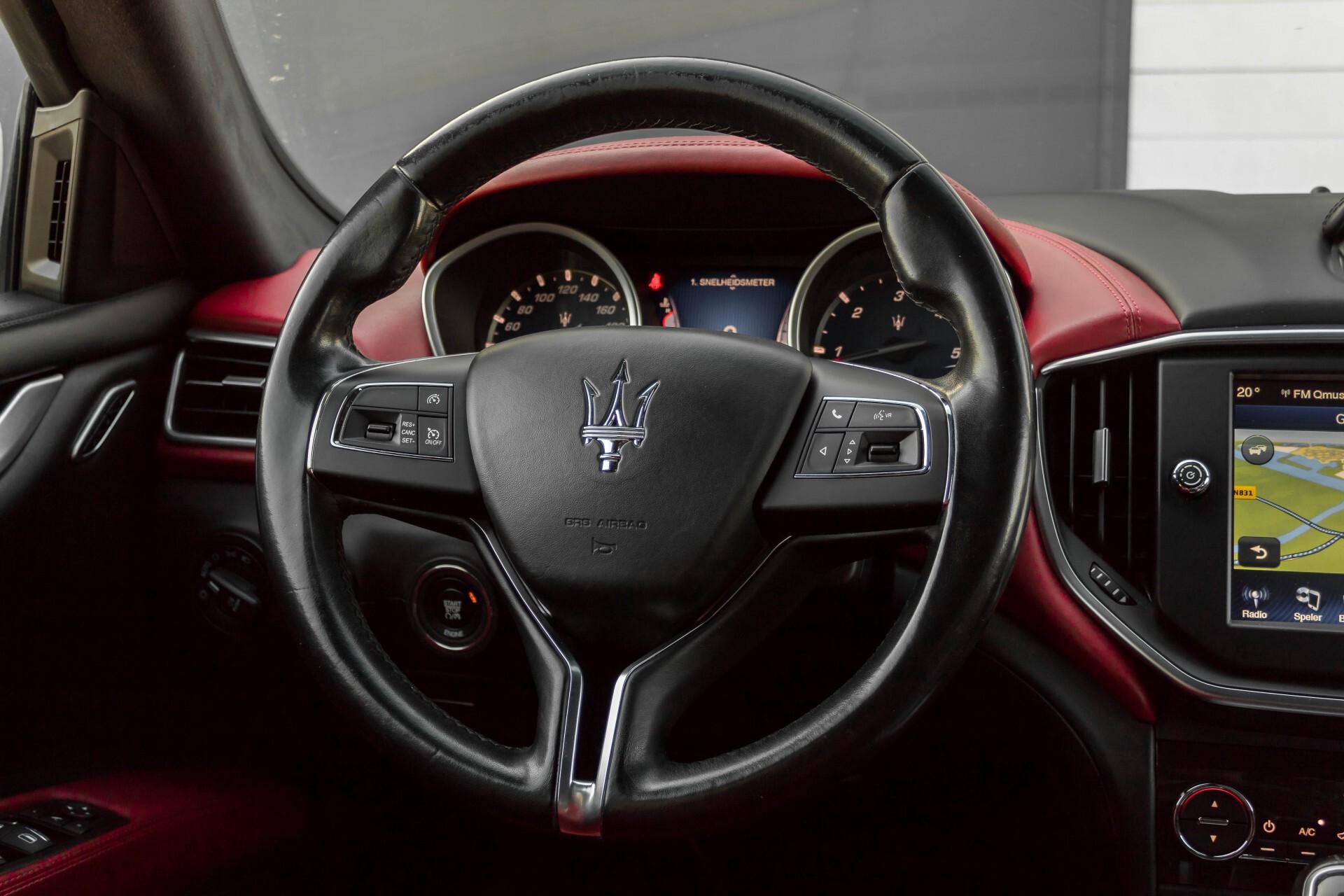 Maserati Ghibli 3.0d V6 20''/PremiumPack/Keyless/StoelV/Xenon/Navi Aut8 Foto 9