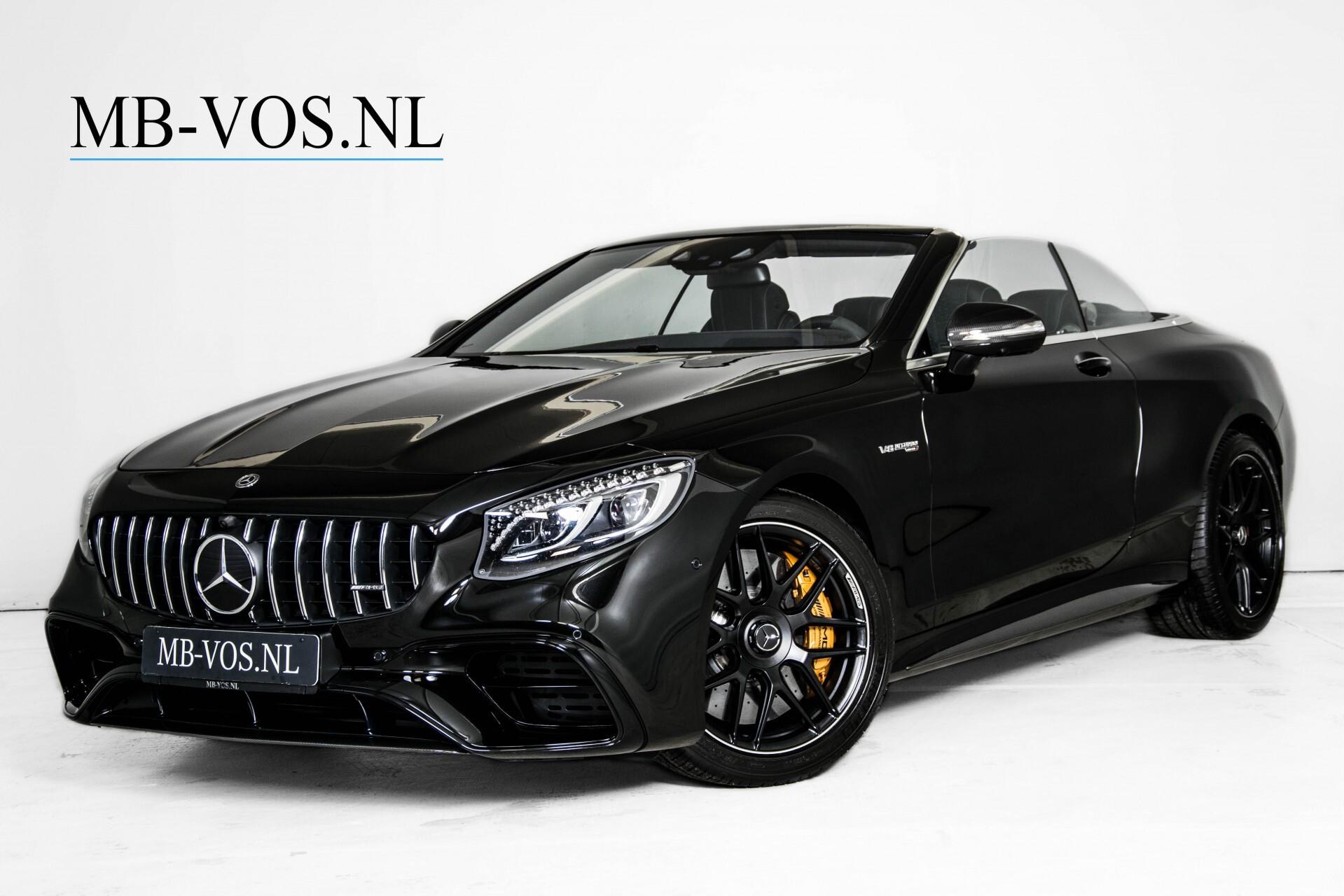 Mercedes-Benz S-Klasse Cabrio 63 AMG 4-M Ceramic/Designo/Carbon/Burmester High End Aut Foto 1