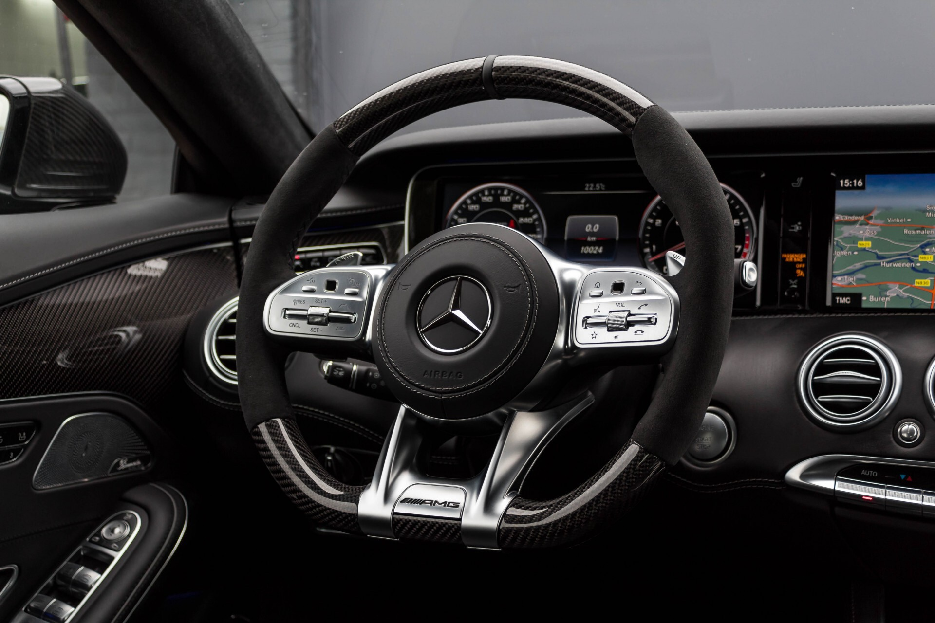 Mercedes-Benz S-Klasse Cabrio 63 AMG 4-M Ceramic/Designo/Carbon/High End/TV Aut7 Foto 10