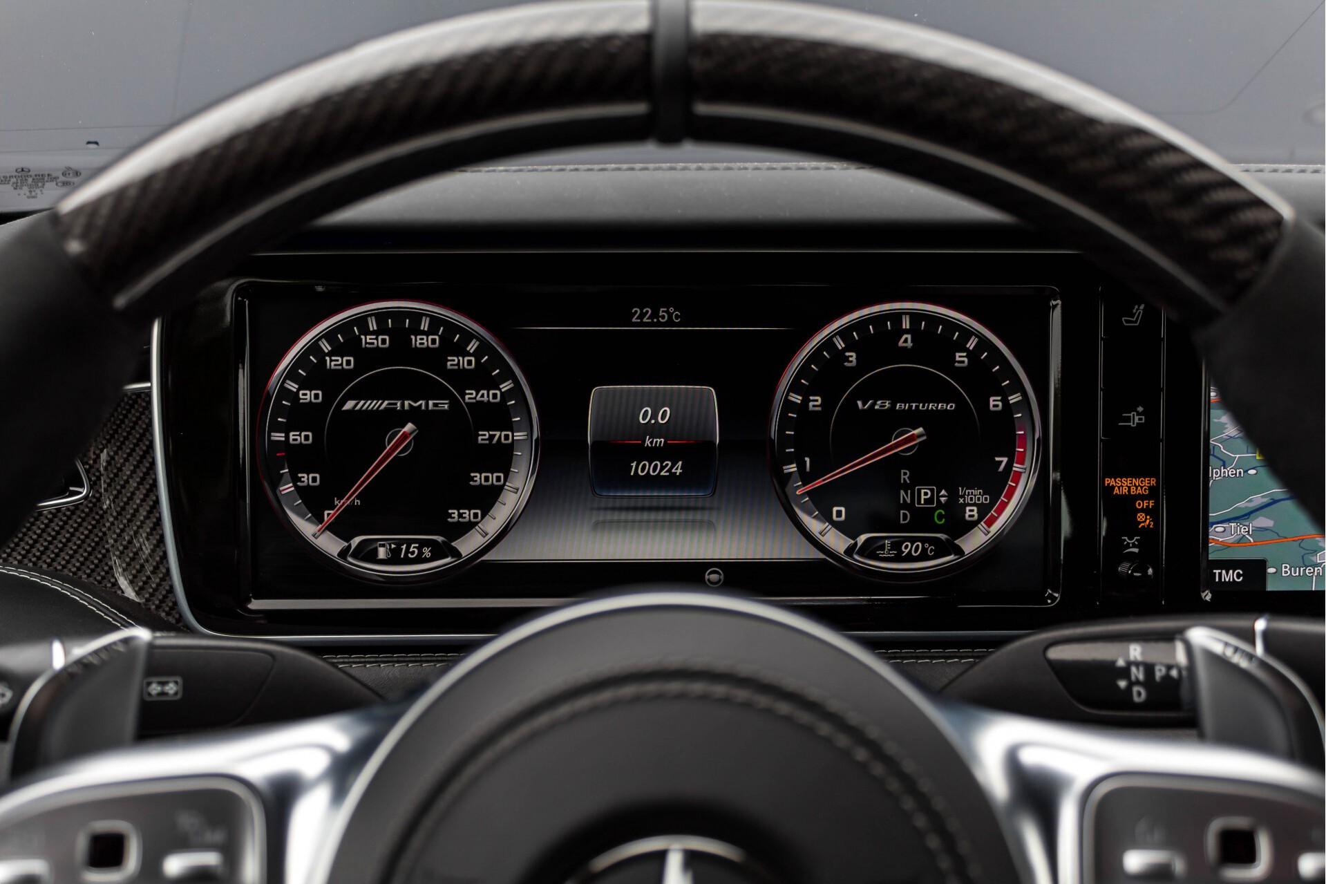 Mercedes-Benz S-Klasse Cabrio 63 AMG 4-M Ceramic/Designo/Carbon/High End/TV Aut7 Foto 14