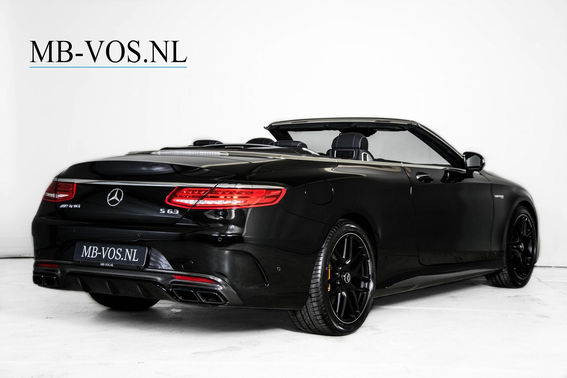 Mercedes-Benz S-Klasse Cabrio 63 AMG 4-M Ceramic/Designo/Carbon/Burmester High End Aut Foto 2
