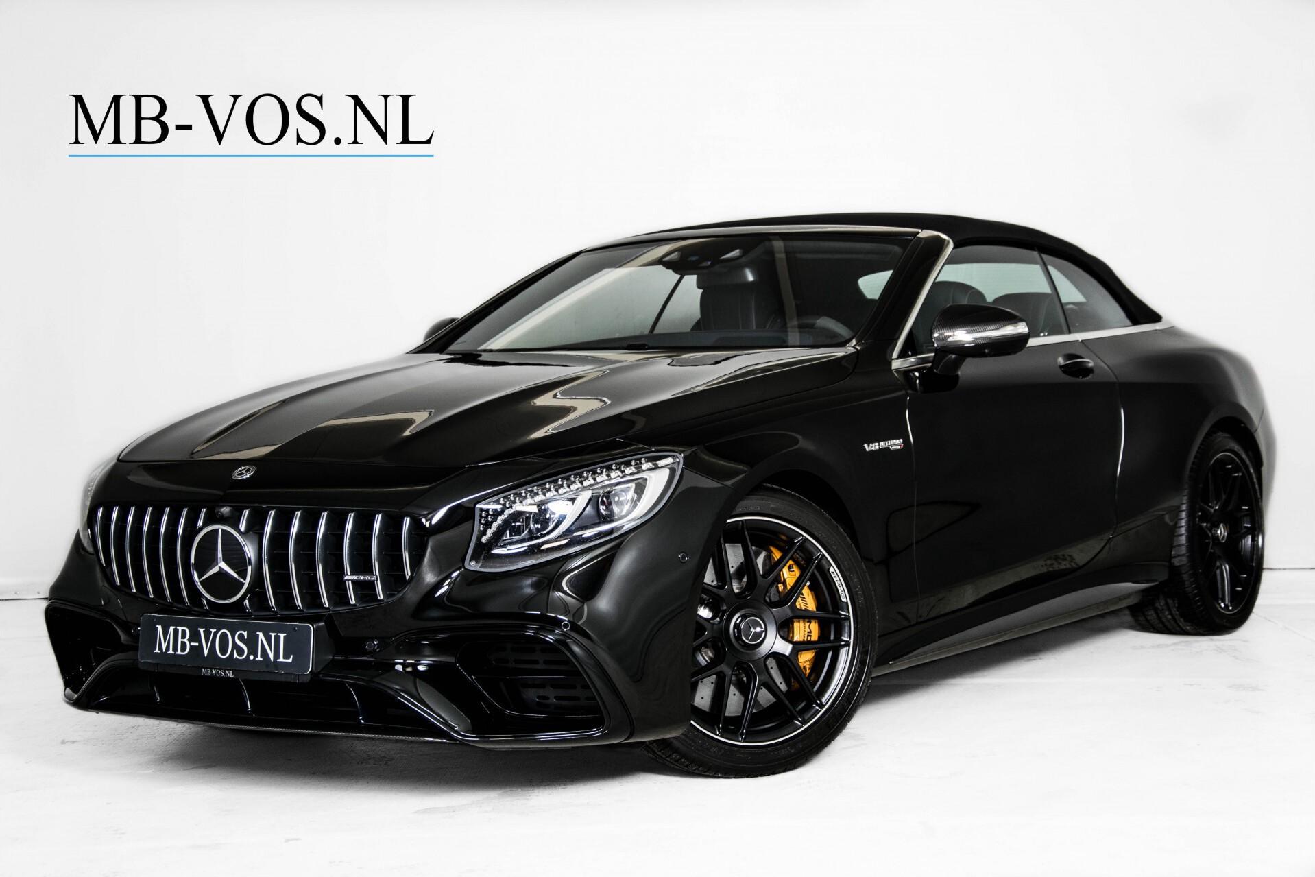 Mercedes-Benz S-Klasse Cabrio 63 AMG 4-M Ceramic/Designo/Carbon/Burmester High End Aut Foto 3