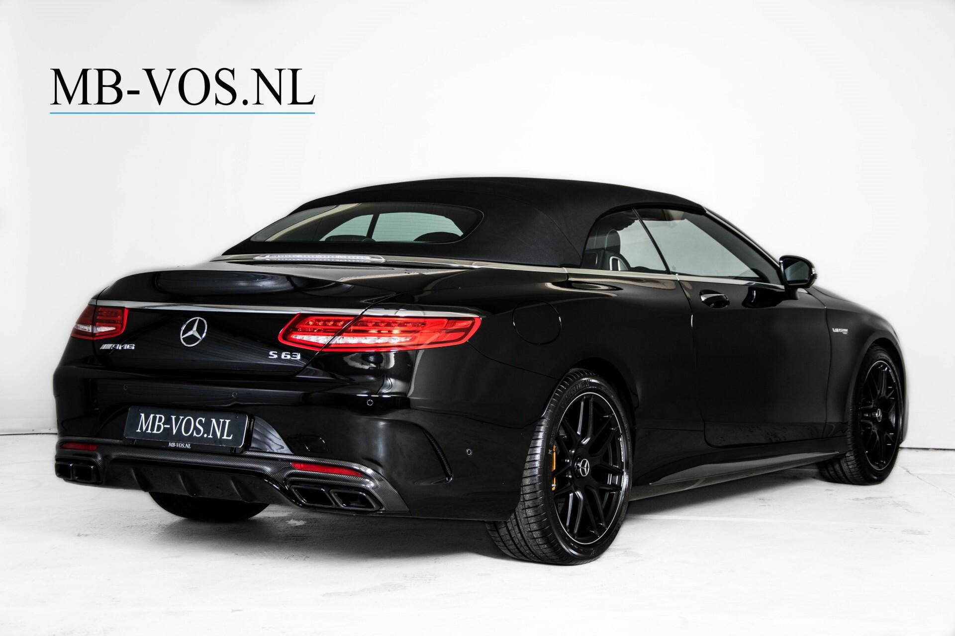 Mercedes-Benz S-Klasse Cabrio 63 AMG 4-M Ceramic/Designo/Carbon/Burmester High End Aut Foto 4