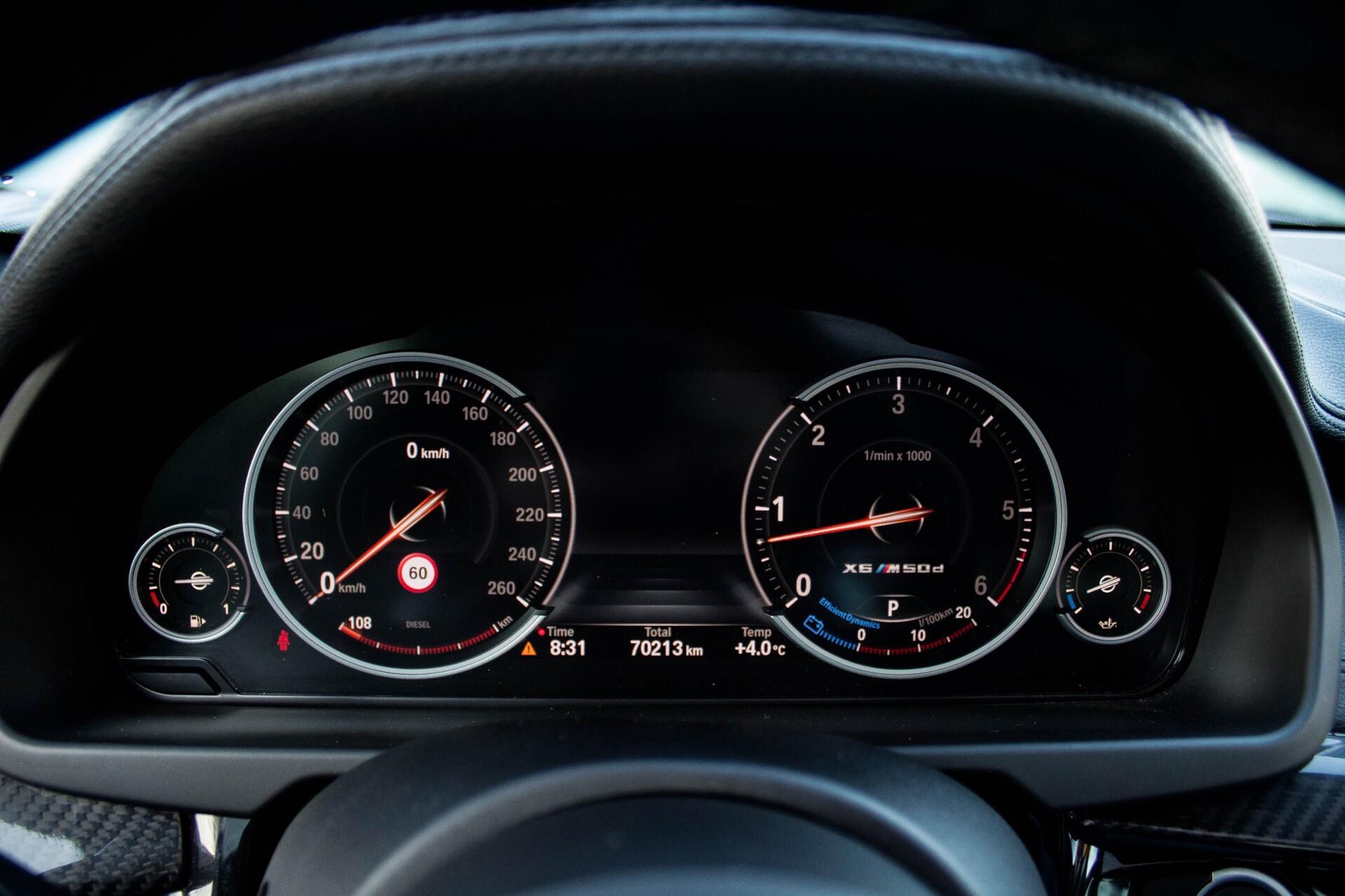 BMW X6 5.0d M Adaptive Drive/Comfortacces/Softclose/Adaptive Cruise/Standkachel/360camera/HUD/DAB Aut8 Foto 11