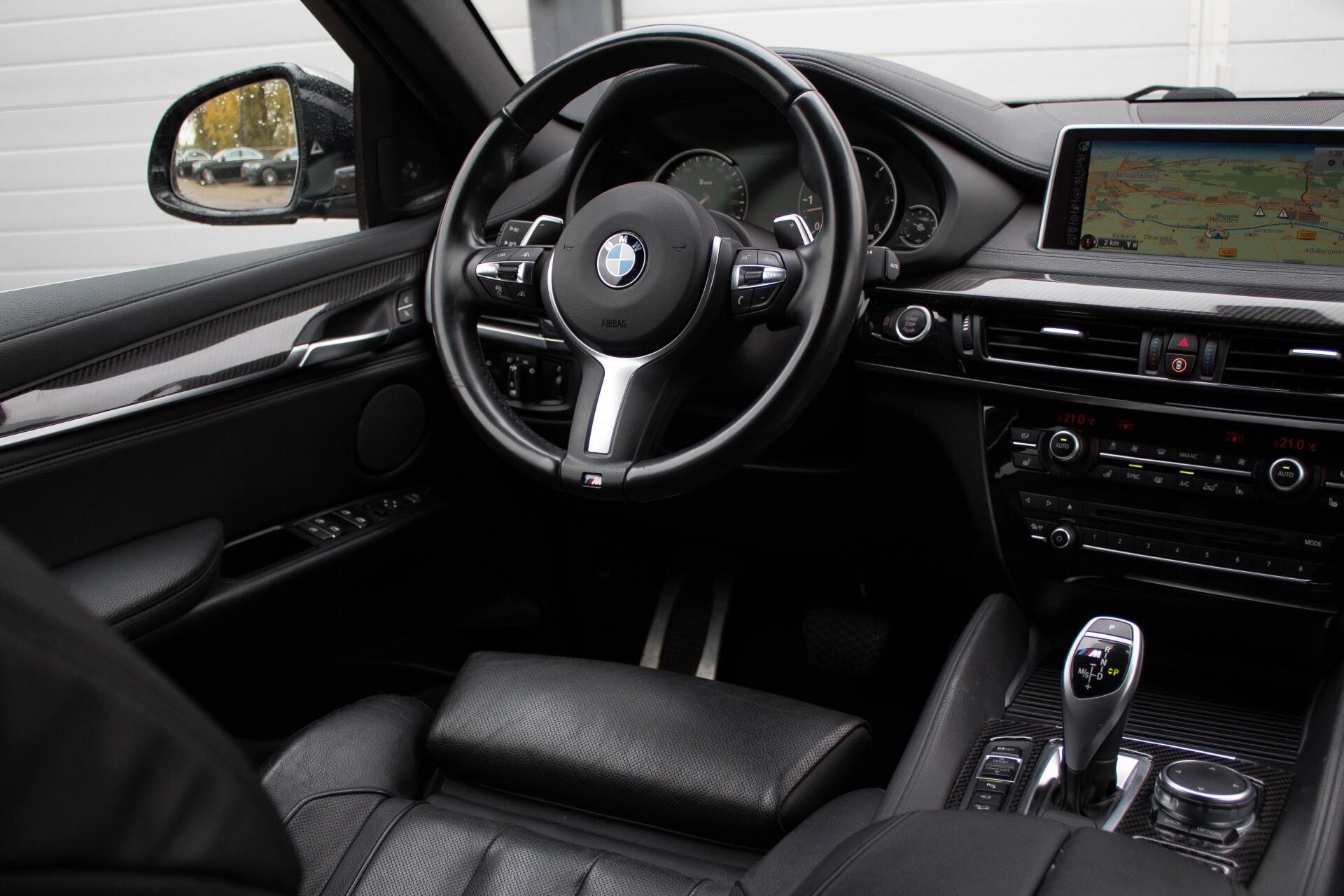 BMW X6 5.0d M Adaptive Drive/Comfortacces/Softclose/Adaptive Cruise/Standkachel/360camera/HUD/DAB Aut8 Foto 7