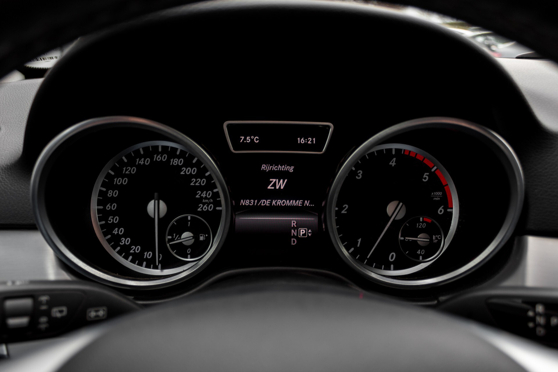 "Mercedes-Benz M-Klasse 350 Bluetec 4-M Luchtvering/Schuifdak/ILS/Wegkl-trekhaak/18"" Aut7 Foto 15"