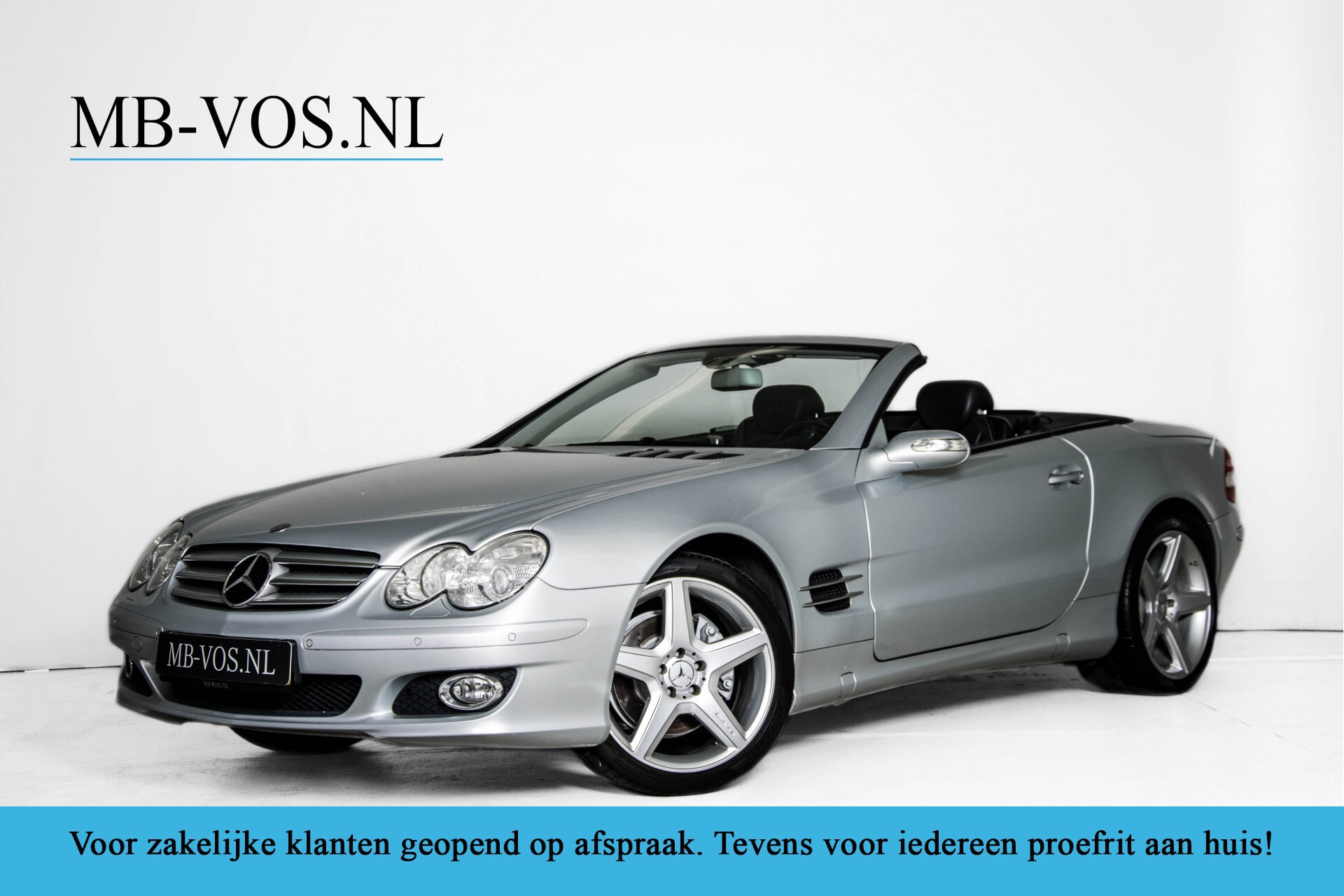"Mercedes-Benz SL-Klasse 350 Stoelkoeling/Bose/Comand/Memory/19""AMG Aut7 Foto 1"