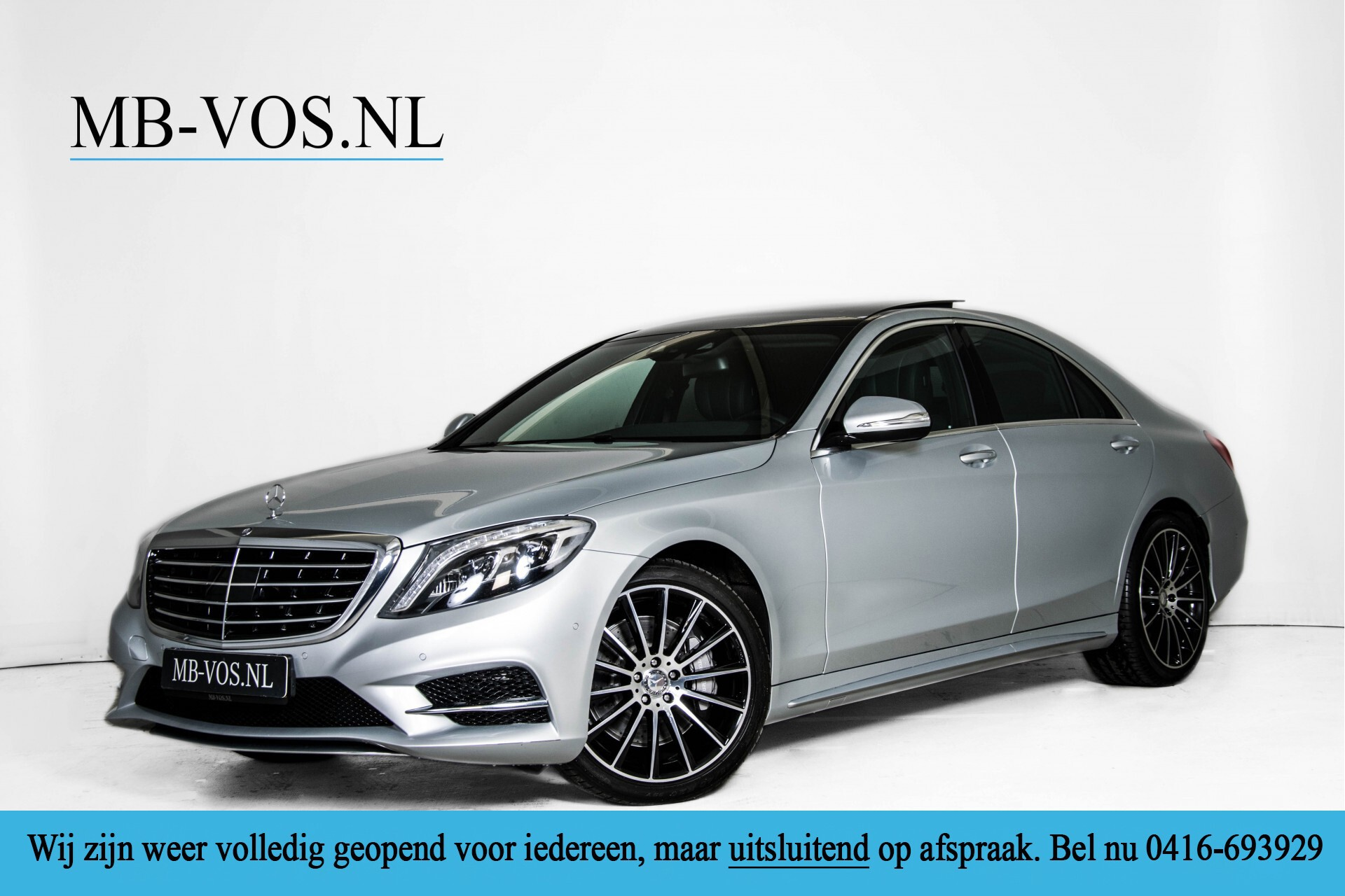 Mercedes-Benz S-Klasse 350 Bluetec 4-M AMG Plus Exclusive Distronic/Keyless/Panorama Aut7 Foto 1