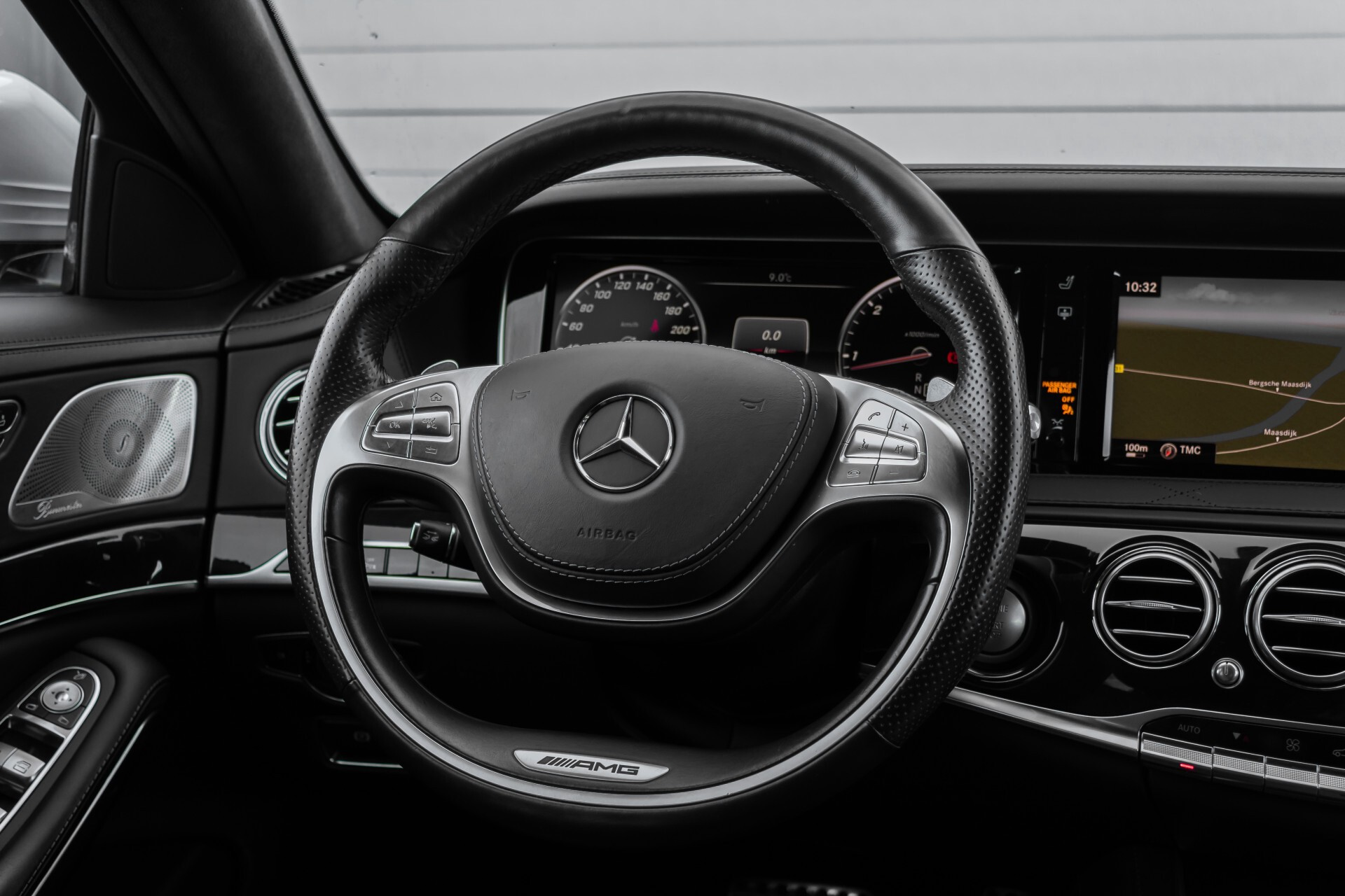 Mercedes-Benz S-Klasse 350 Bluetec 4-M AMG Plus Exclusive Distronic/Keyless/Panorama Aut7 Foto 9