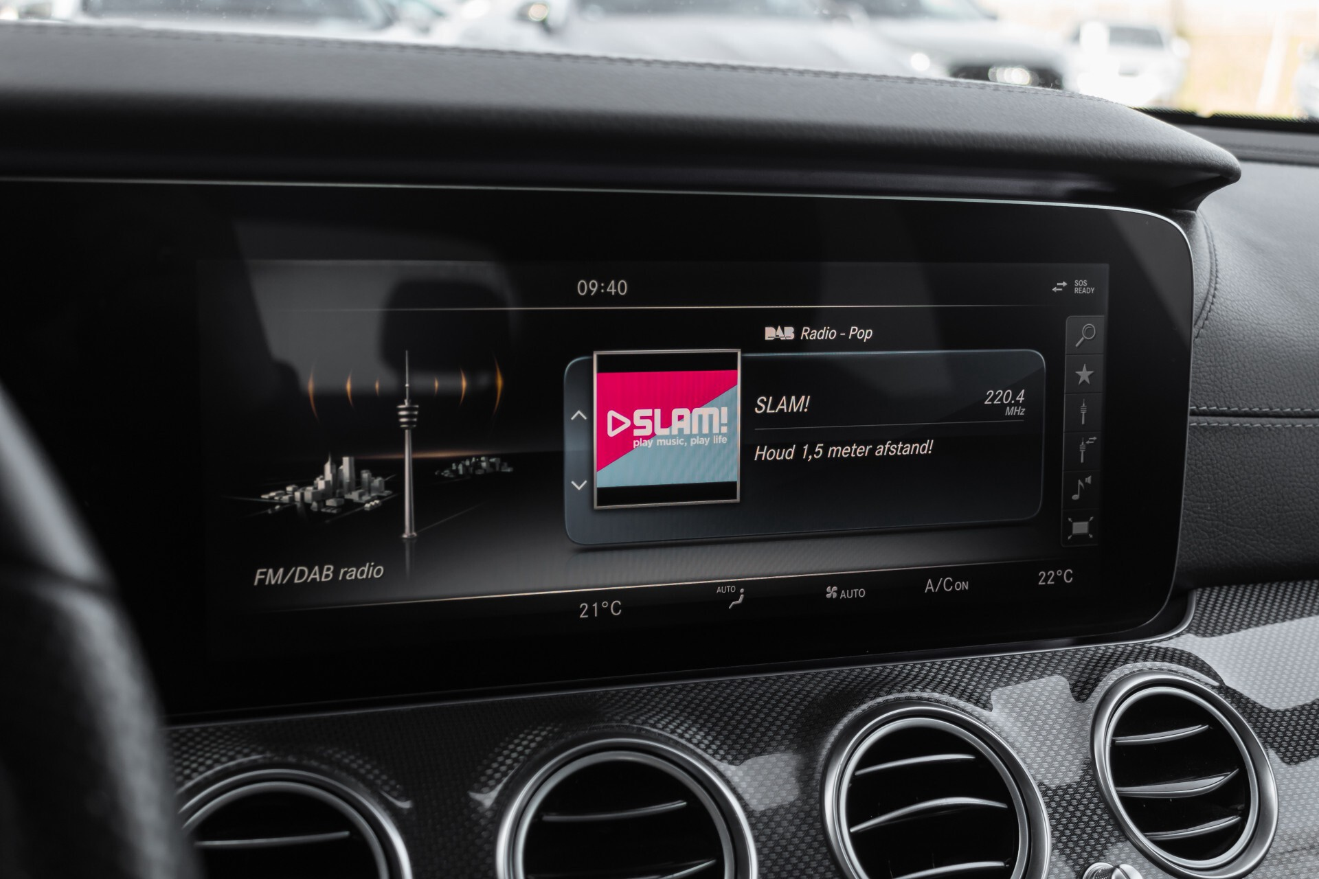 Mercedes-Benz E-Klasse 220 d AMG Night Distronic/Widescreen/Burmester/Schuifdak/Standkachel Aut9 Foto 19