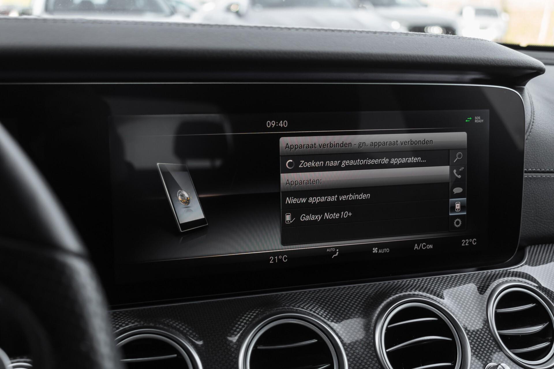 Mercedes-Benz E-Klasse 220 d AMG Night Distronic/Widescreen/Burmester/Schuifdak/Standkachel Aut9 Foto 23