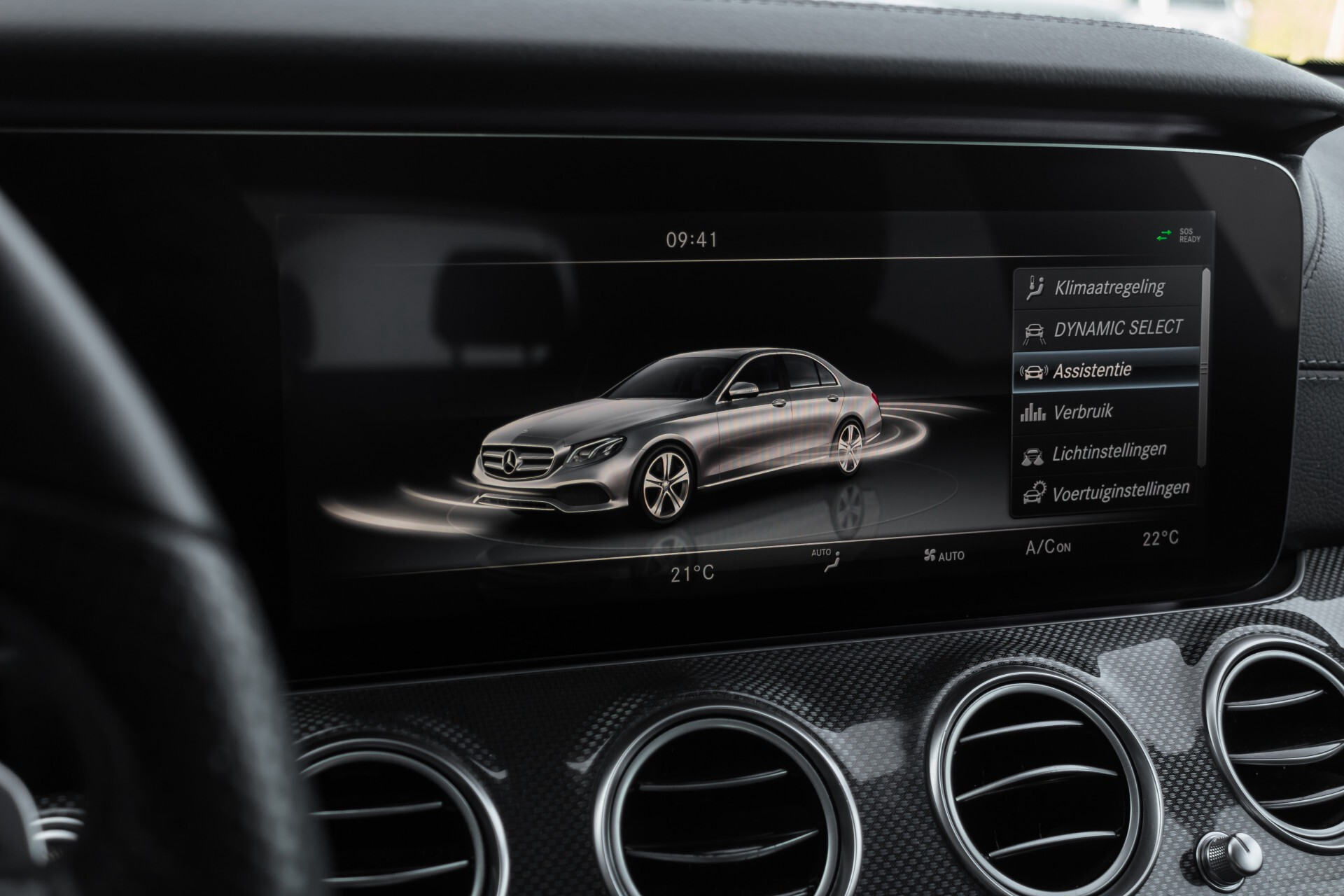 Mercedes-Benz E-Klasse 220 d AMG Night Distronic/Widescreen/Burmester/Schuifdak/Standkachel Aut9 Foto 28