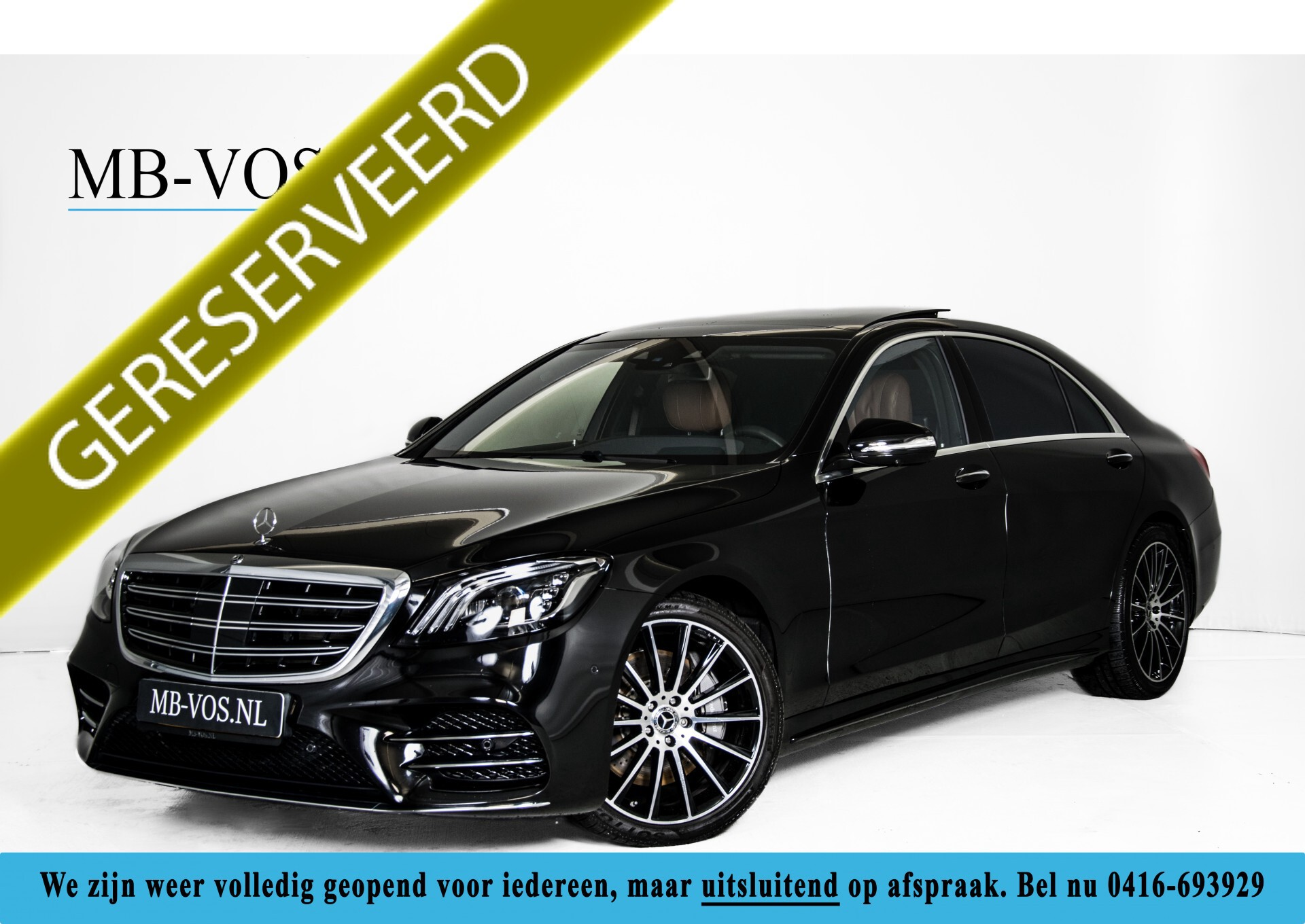 Mercedes-Benz S-Klasse 560 4-M Lang AMG Plus Exclusive Entertainment/Massage Aut9 Foto 1