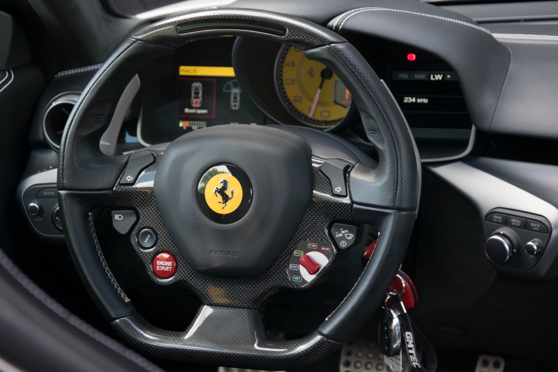 Ferrari F12 6.3 Berlinetta Capristo/Carbonseats/Led/Passenger Display Aut7 Foto 10
