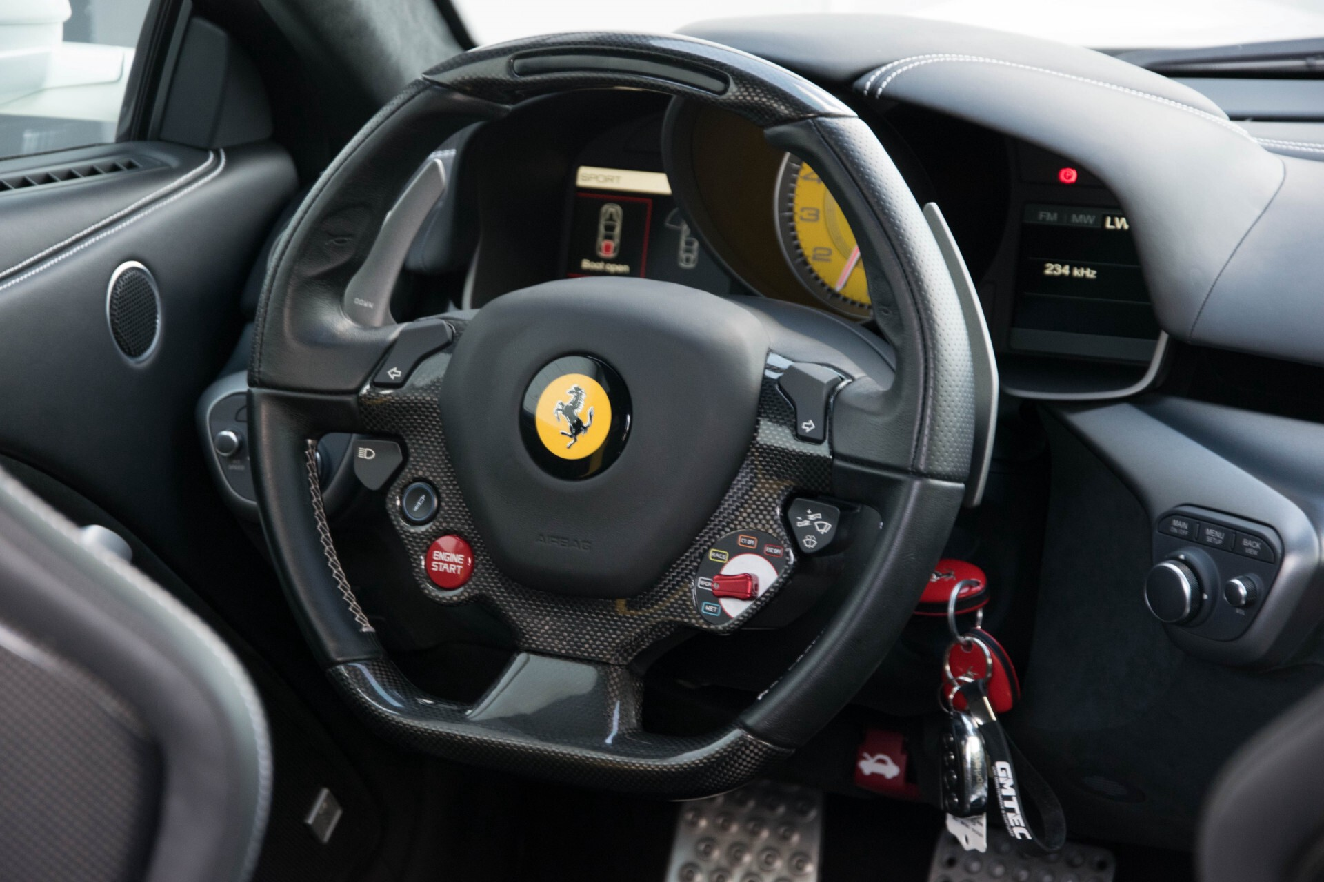 Ferrari F12 6.3 Berlinetta Capristo/Carbonseats/Led/Passenger Display Aut7 Foto 5