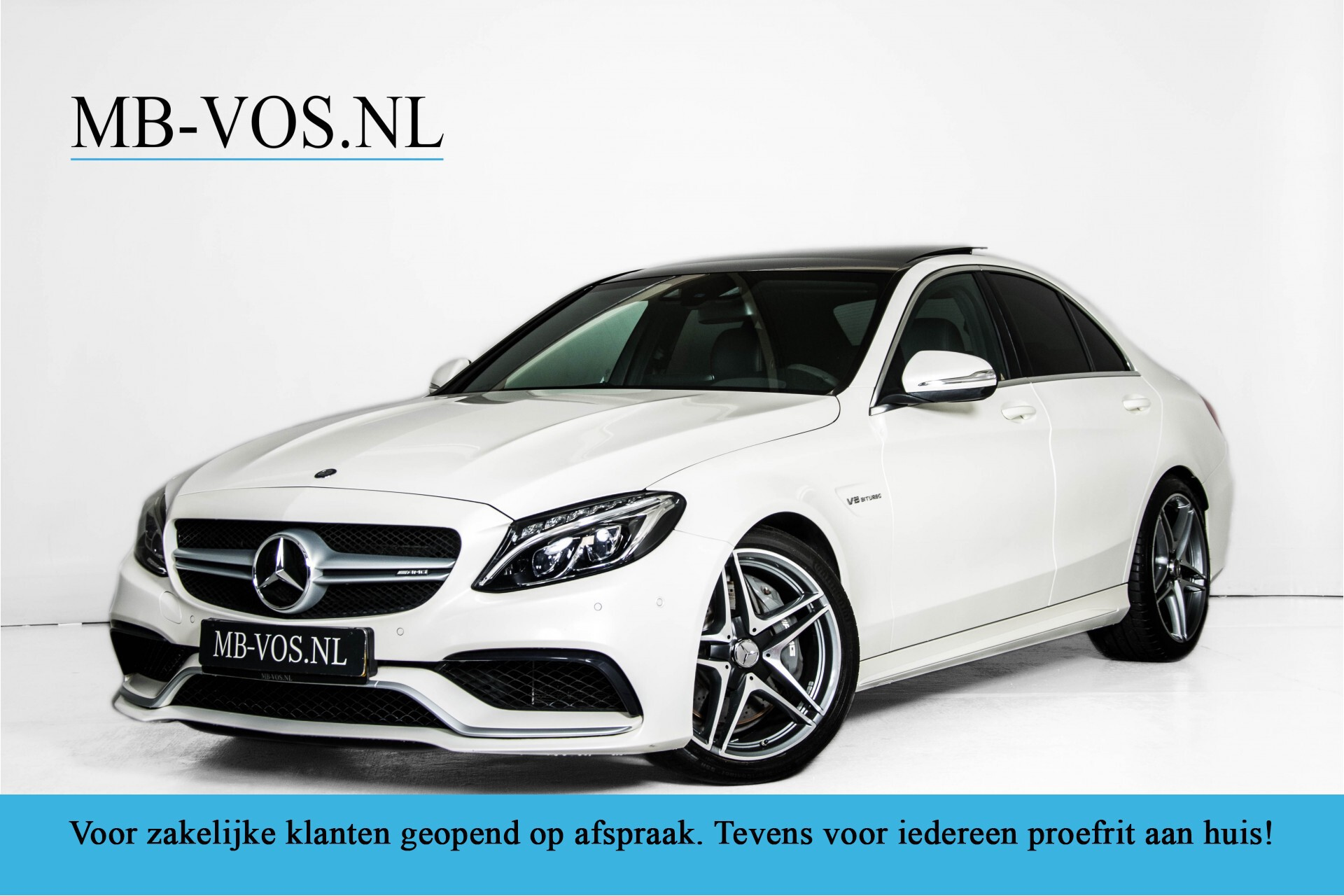 Mercedes-Benz C-Klasse 63 AMG Panorama Nappa/Spoorpakket/Camera/Performance stuur Aut7 Foto 1