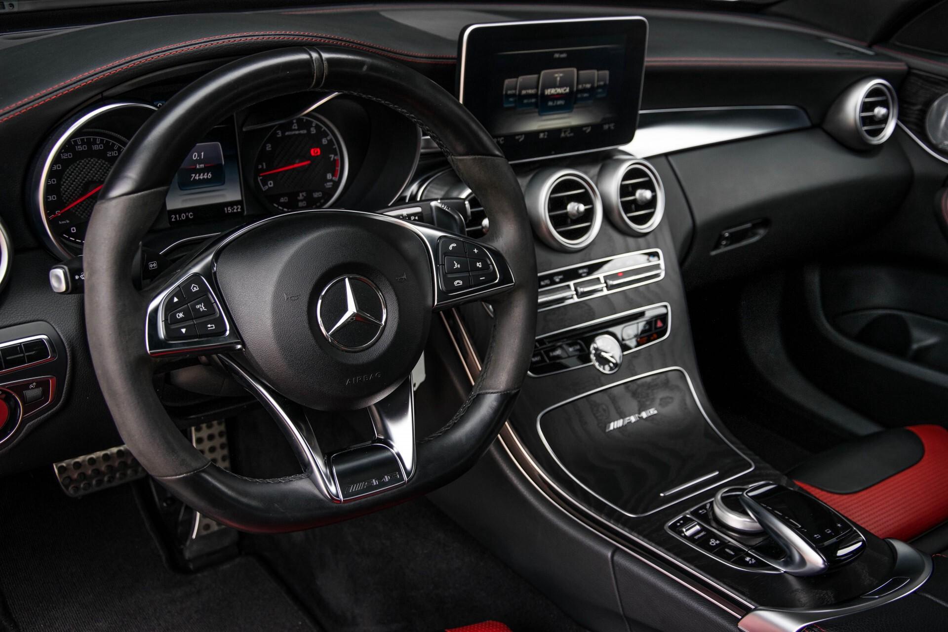 Mercedes-Benz C-Klasse 63 AMG Panorama Nappa/Spoorpakket/Camera/Performance stuur Aut7 Foto 21