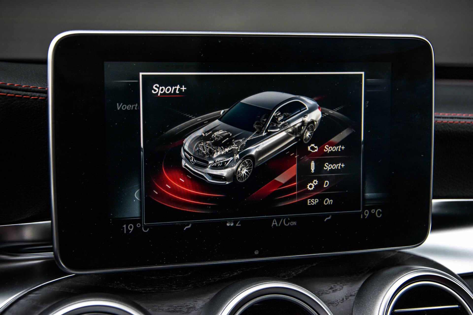 Mercedes-Benz C-Klasse 63 AMG Panorama Nappa/Spoorpakket/Camera/Performance stuur Aut7 Foto 32