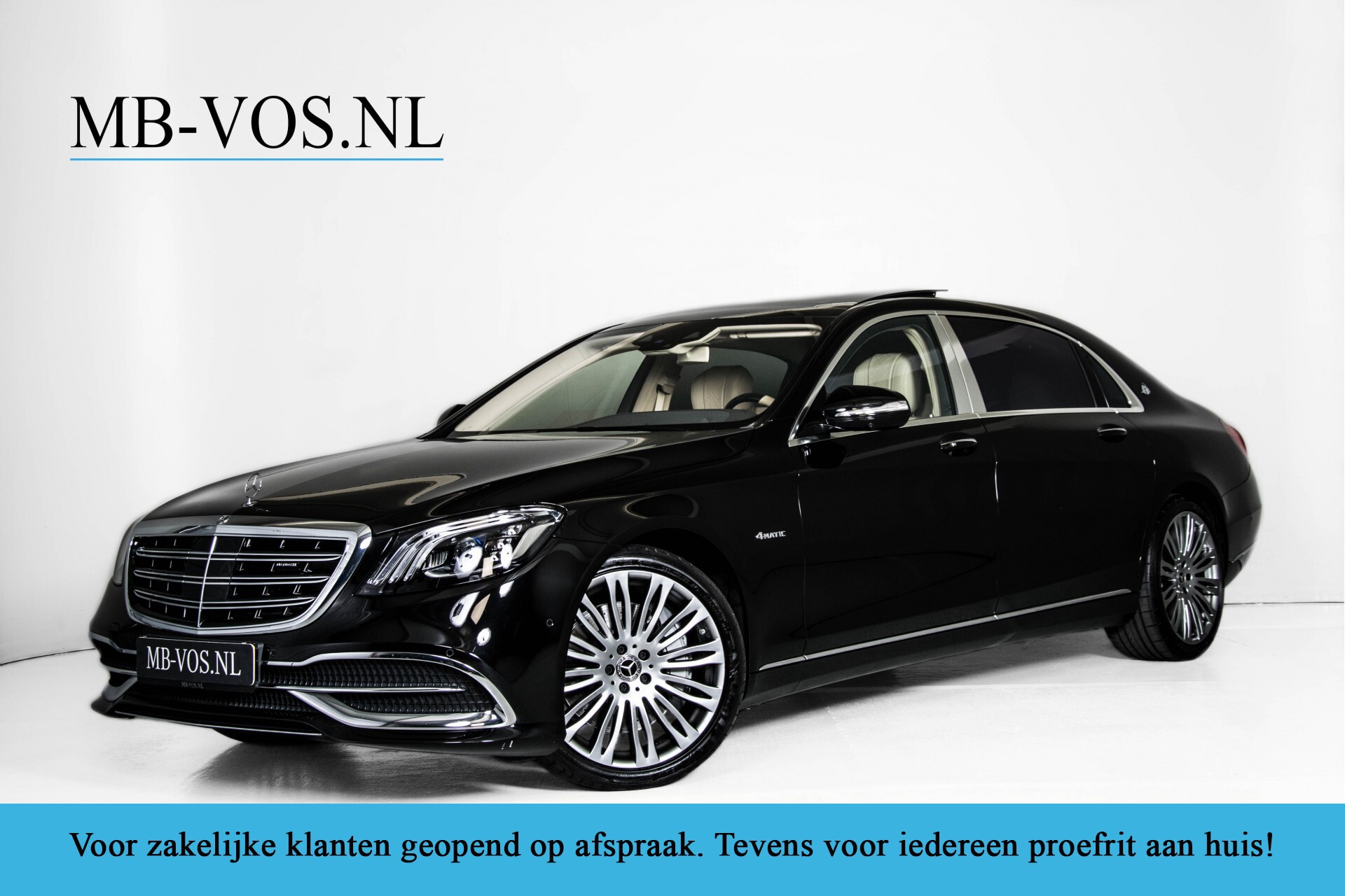 Mercedes-Benz S-Klasse 560 Maybach 4-M Designo First Class Full Options Aut9 Foto 1