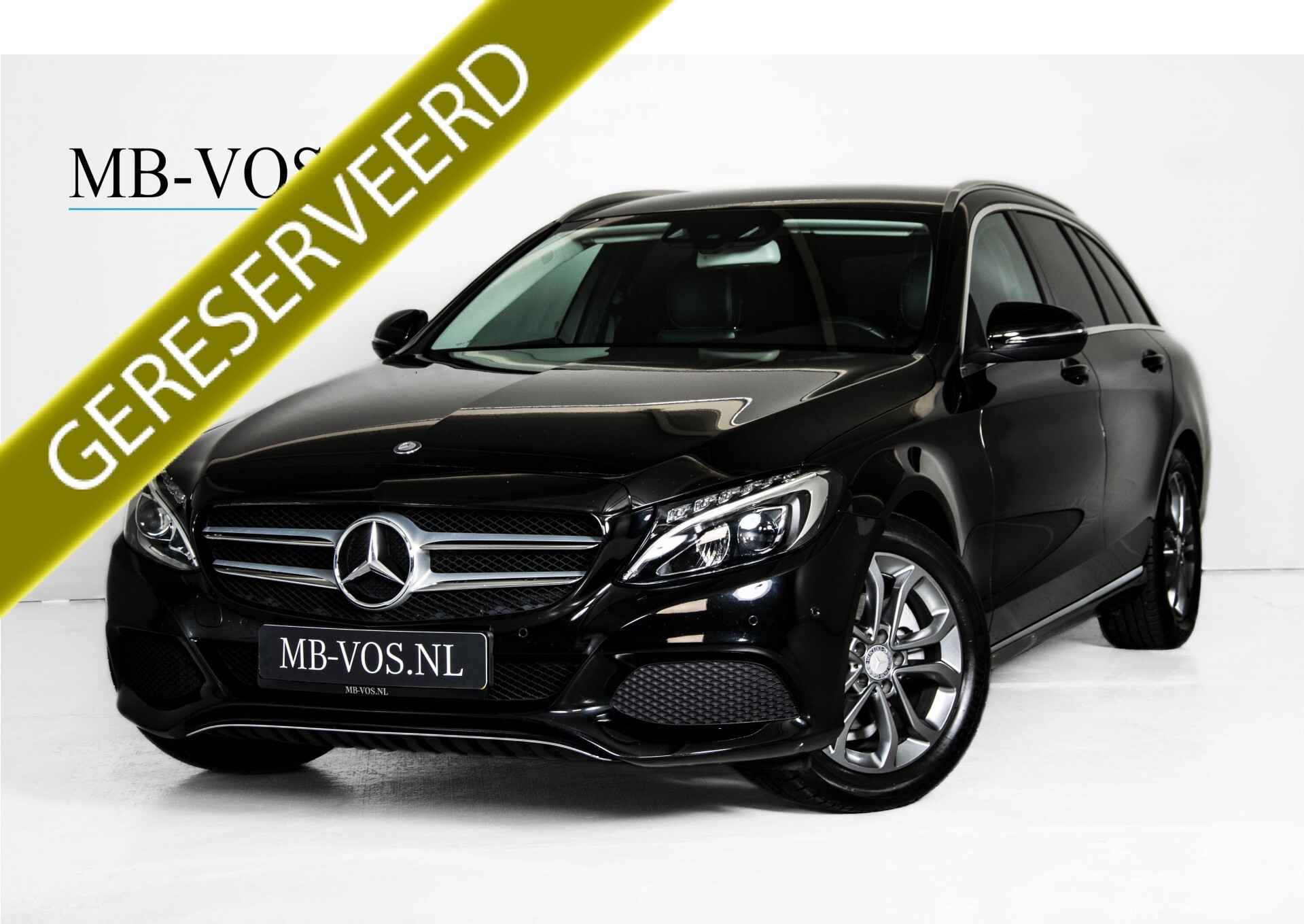 Mercedes-Benz C-Klasse Estate 180 Avantgarde LED/Navi/Privacyglas/Pts/Aut-koffer Aut7 Foto 1