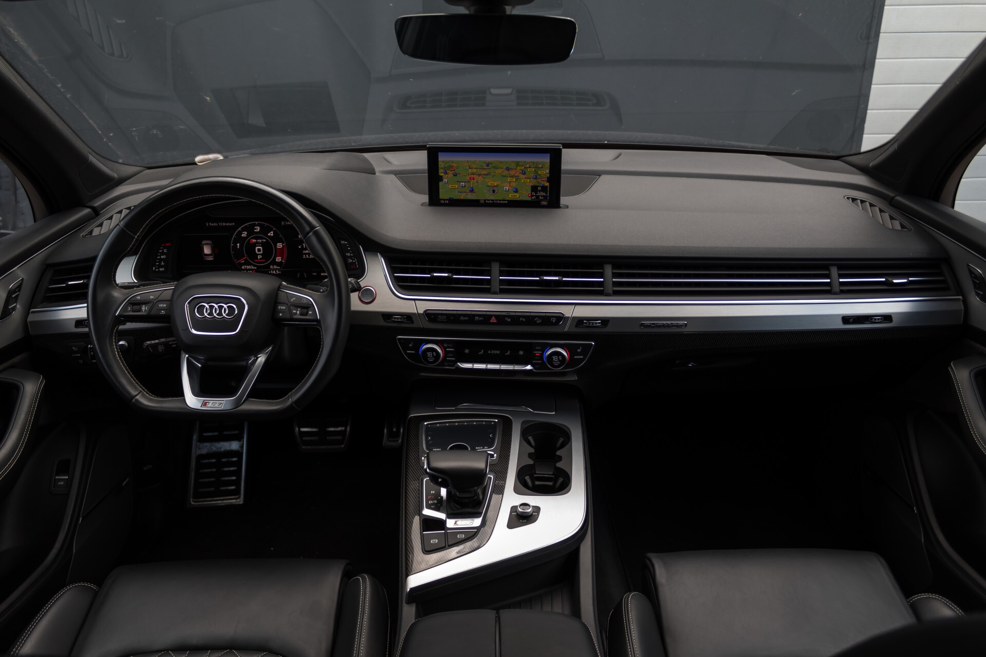 Audi SQ7 4.0 TDI 435pk Quattro Full Options Grijs Kenteken Aut8 Foto 6