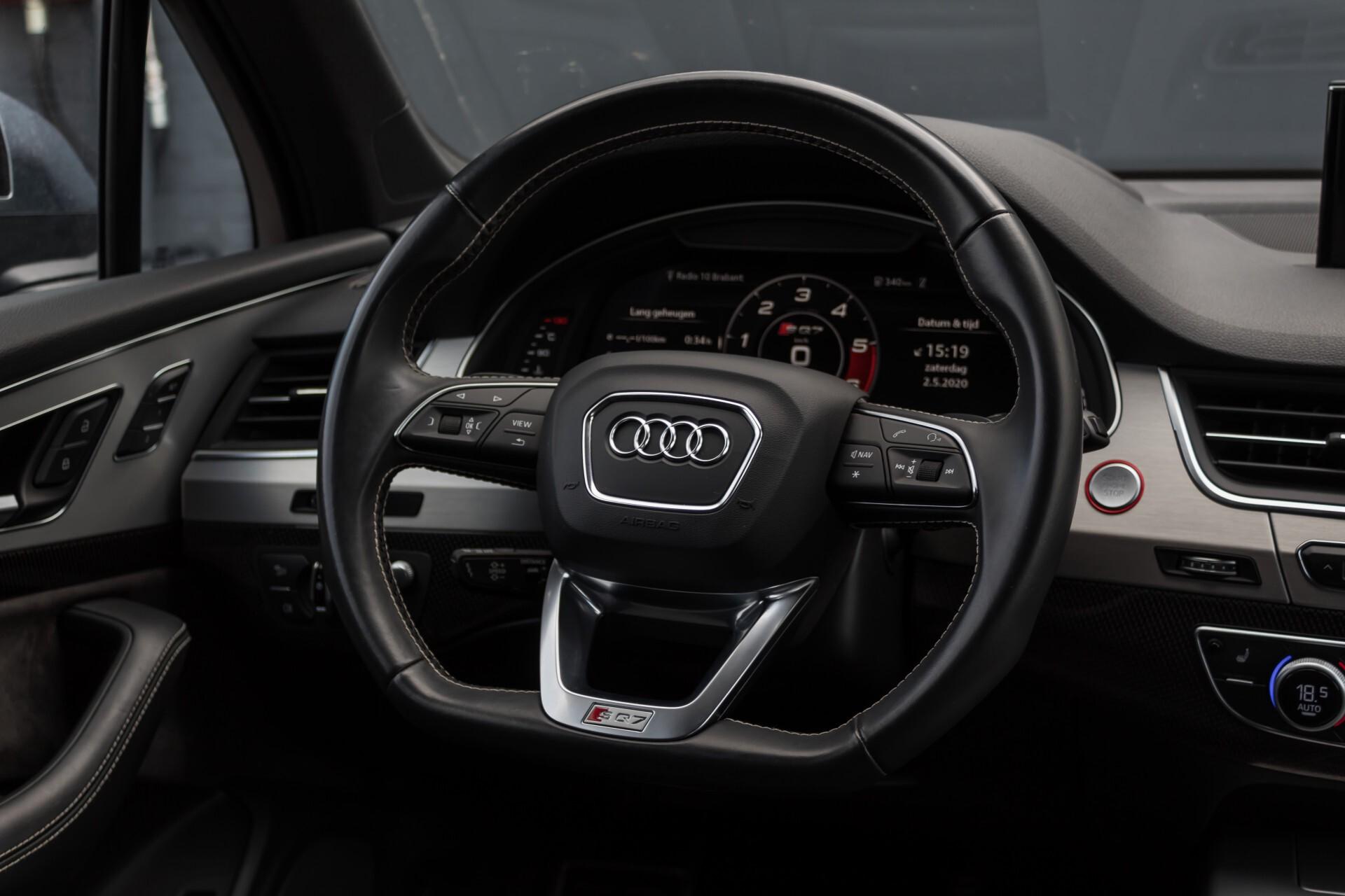 Audi SQ7 4.0 TDI 435pk Quattro Full Options Grijs Kenteken Aut8 Foto 7
