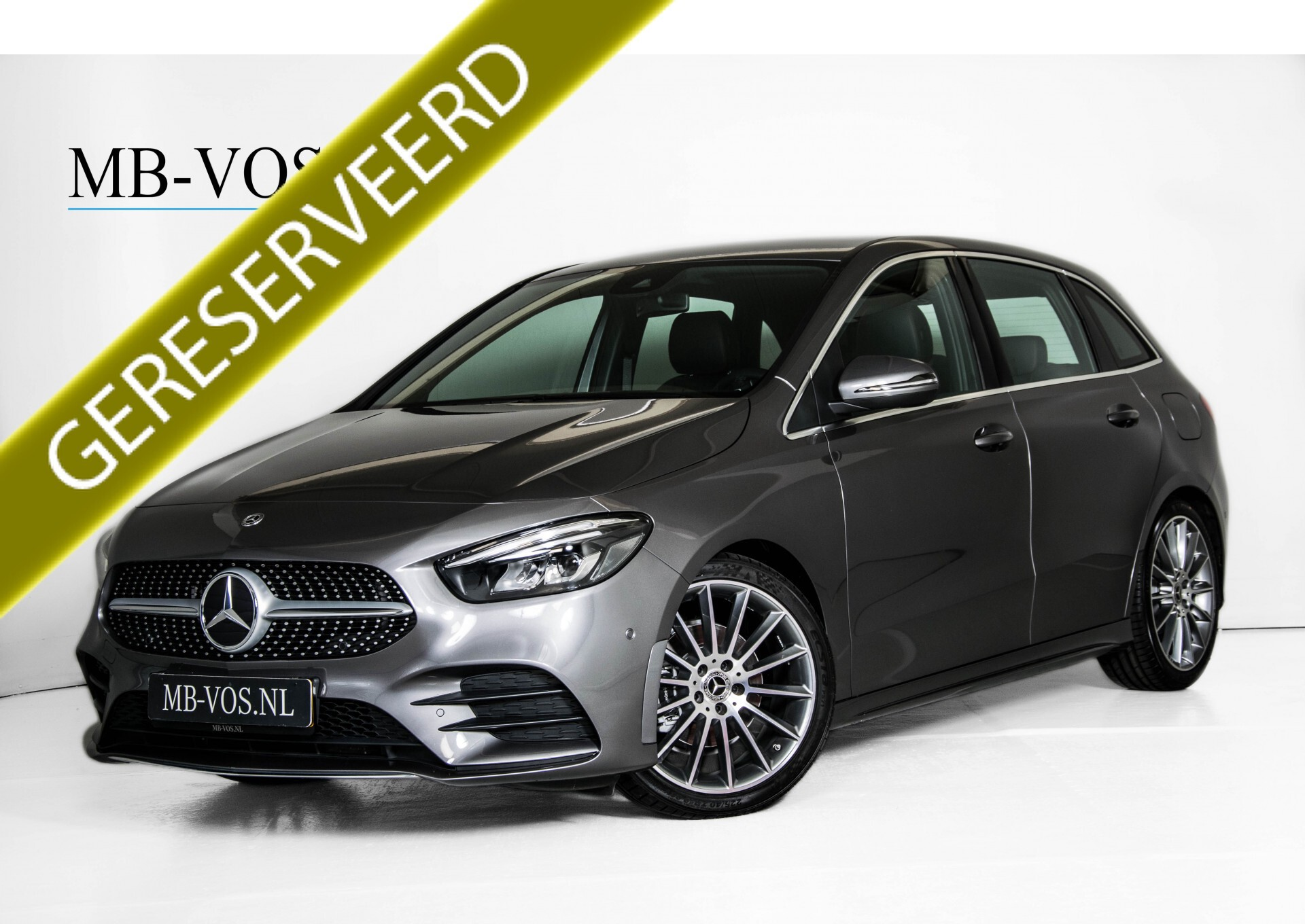 "Mercedes-Benz B-Klasse 180d AMG Widescreen/M-bux/LED/19"" Aut7 Foto 1"