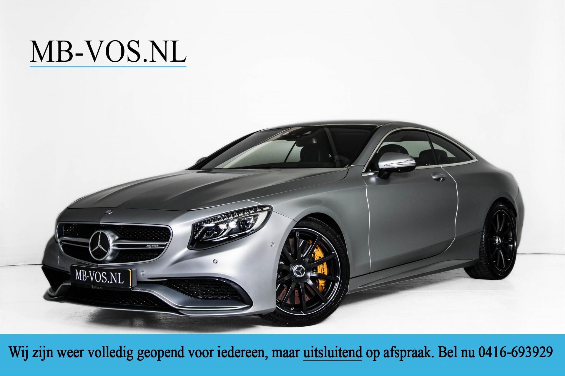 Mercedes-Benz S-Klasse Coupé 63 AMG 4-M Keramisch/Akrapovic/Swarowski/Designo/Burmester High End Aut7 Foto 1