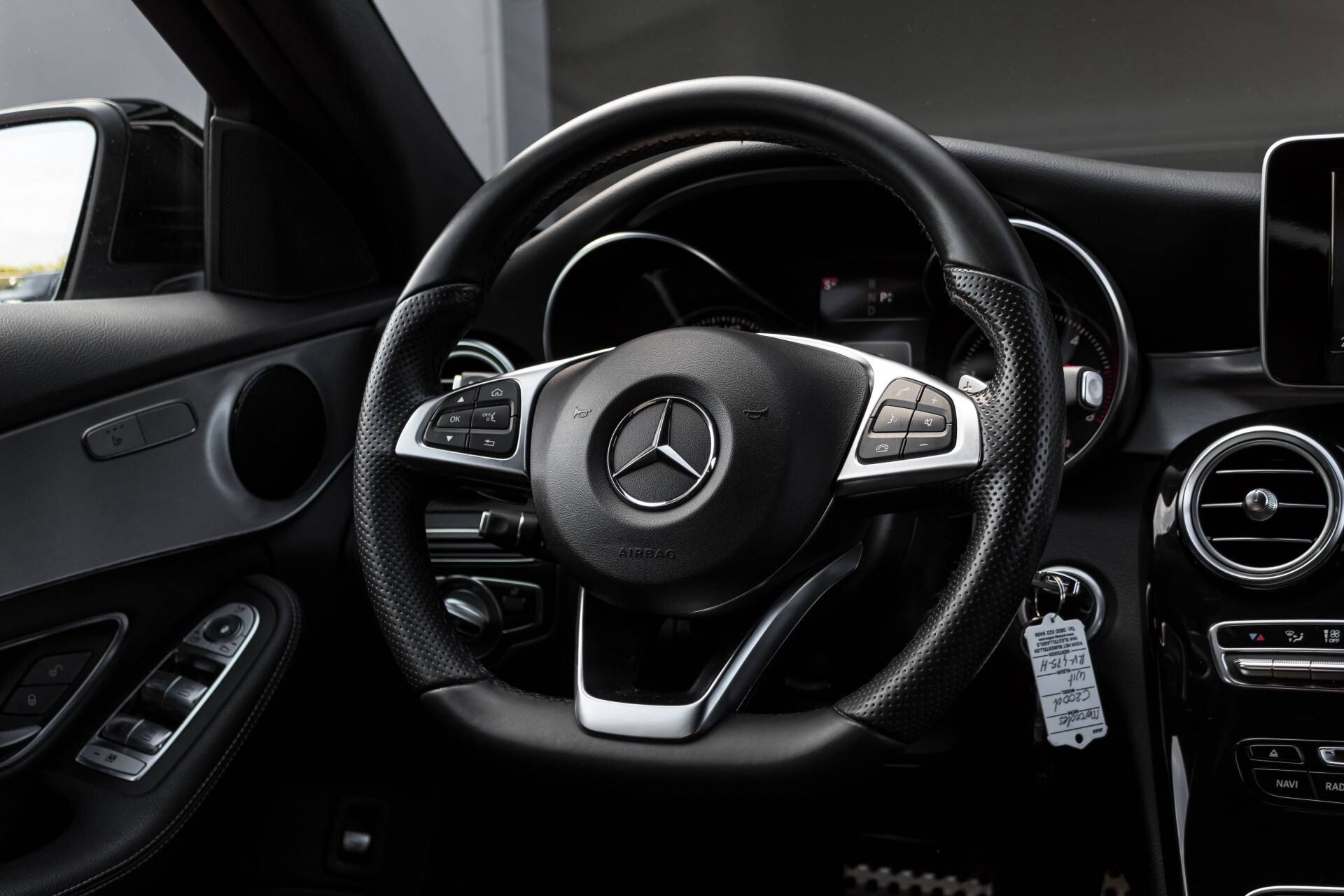 Mercedes-Benz C-Klasse Estate 200d AMG Night Wegkl-Trekhaak/LED/Dodehoekassistent/Verw Stln Aut7 Foto 8