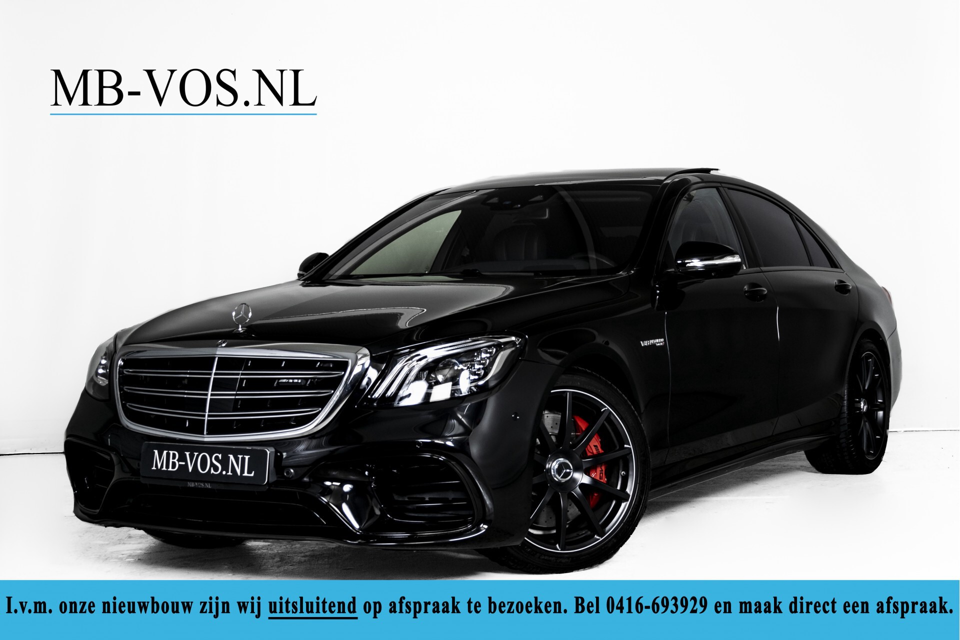 Mercedes-Benz S-Klasse 63 AMG 4Matic+ Lang Designo/Exclusive/Entertainment Aut9 Foto 1