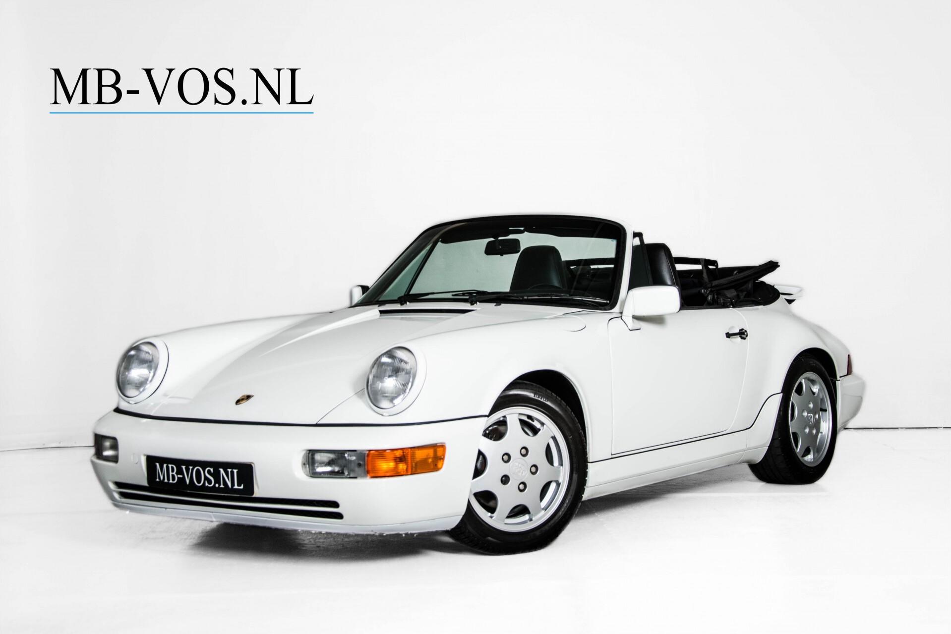 Porsche 911 Cabrio 964 3.6 Carrera 4 Gerestaureerd/Gedocumenteerd/Incl. BTW Foto 1