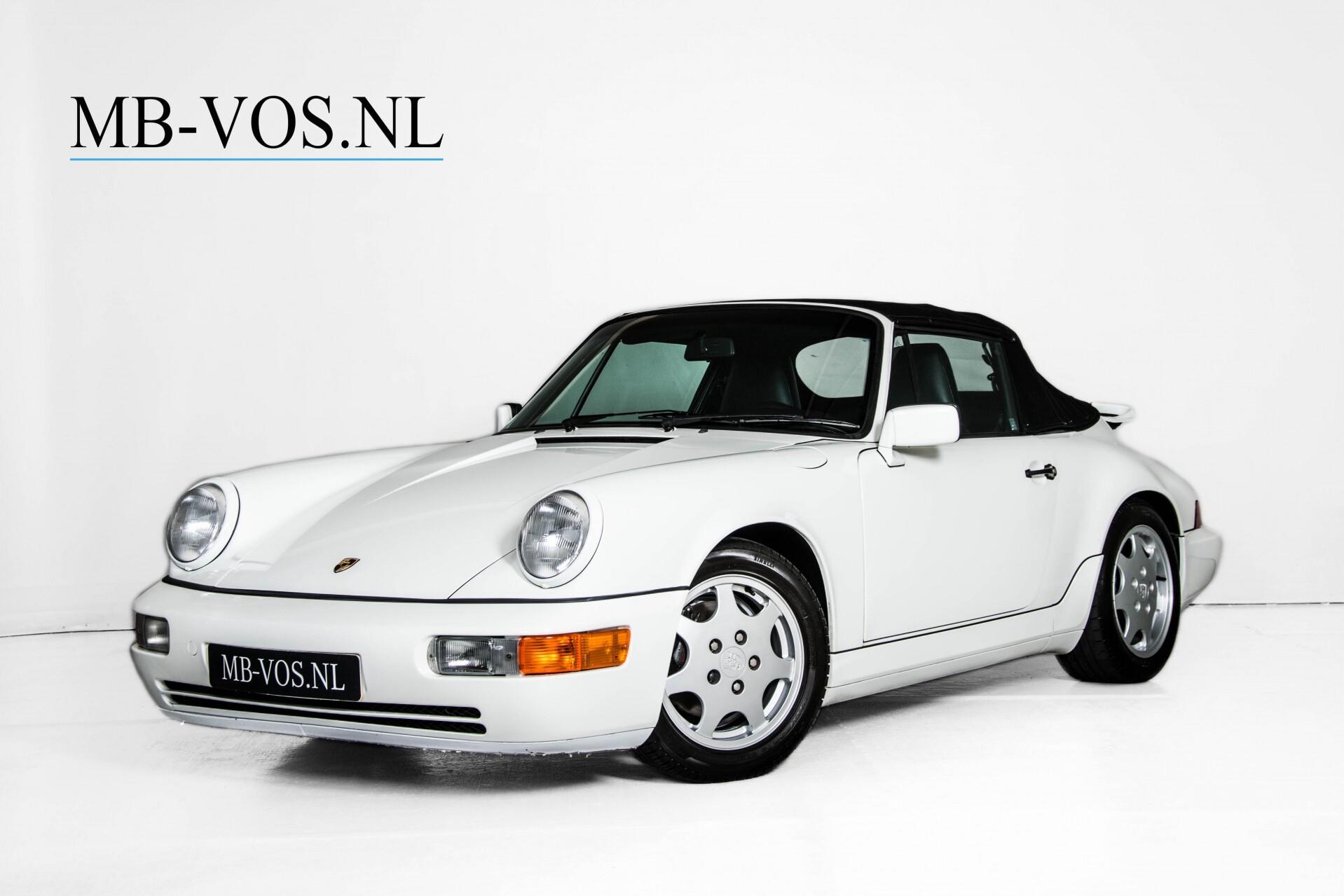 Porsche 911 Cabrio 964 3.6 Carrera 4 Gerestaureerd/Gedocumenteerd/Incl. BTW Foto 2