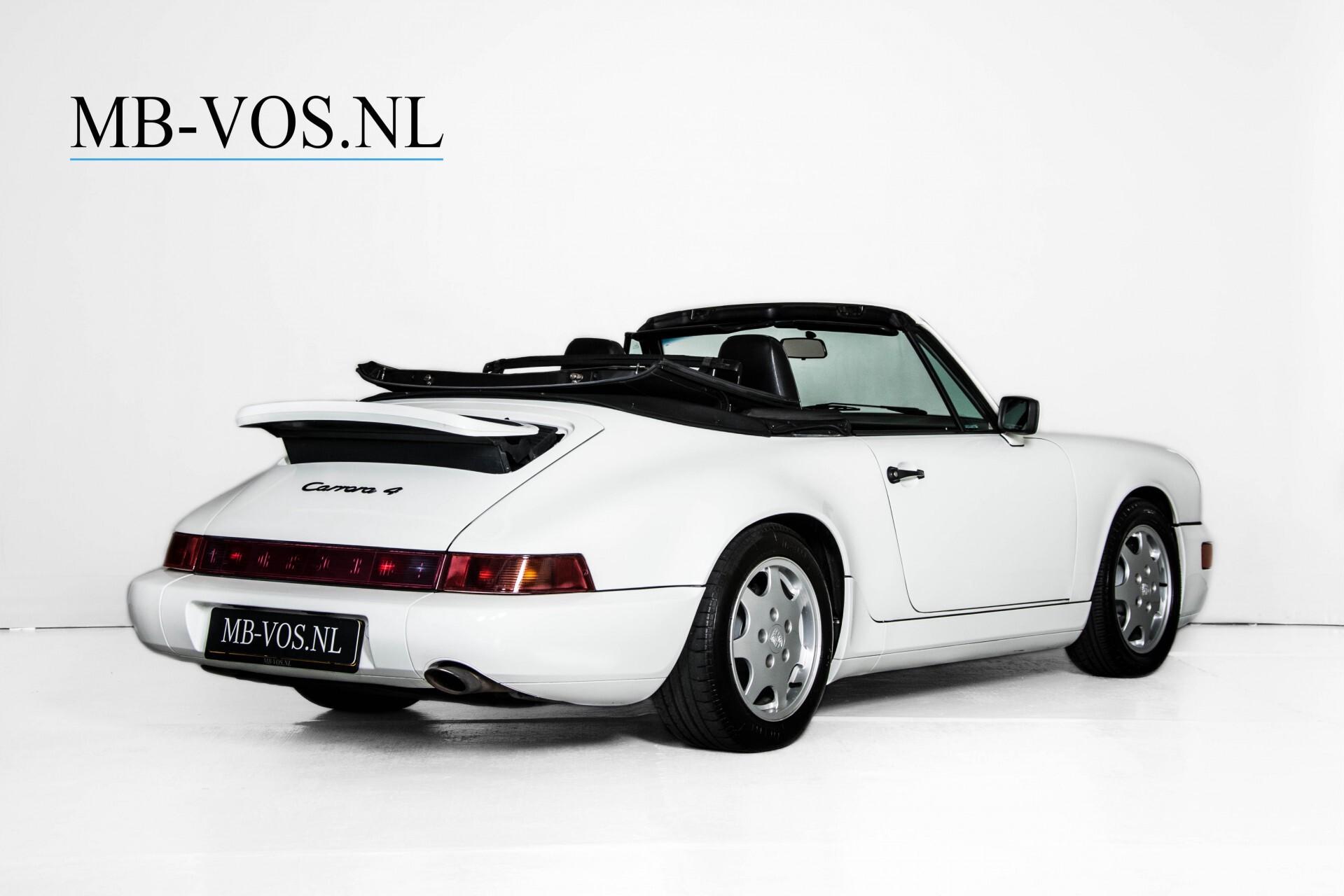 Porsche 911 Cabrio 964 3.6 Carrera 4 Gerestaureerd/Gedocumenteerd/Incl. BTW Foto 3