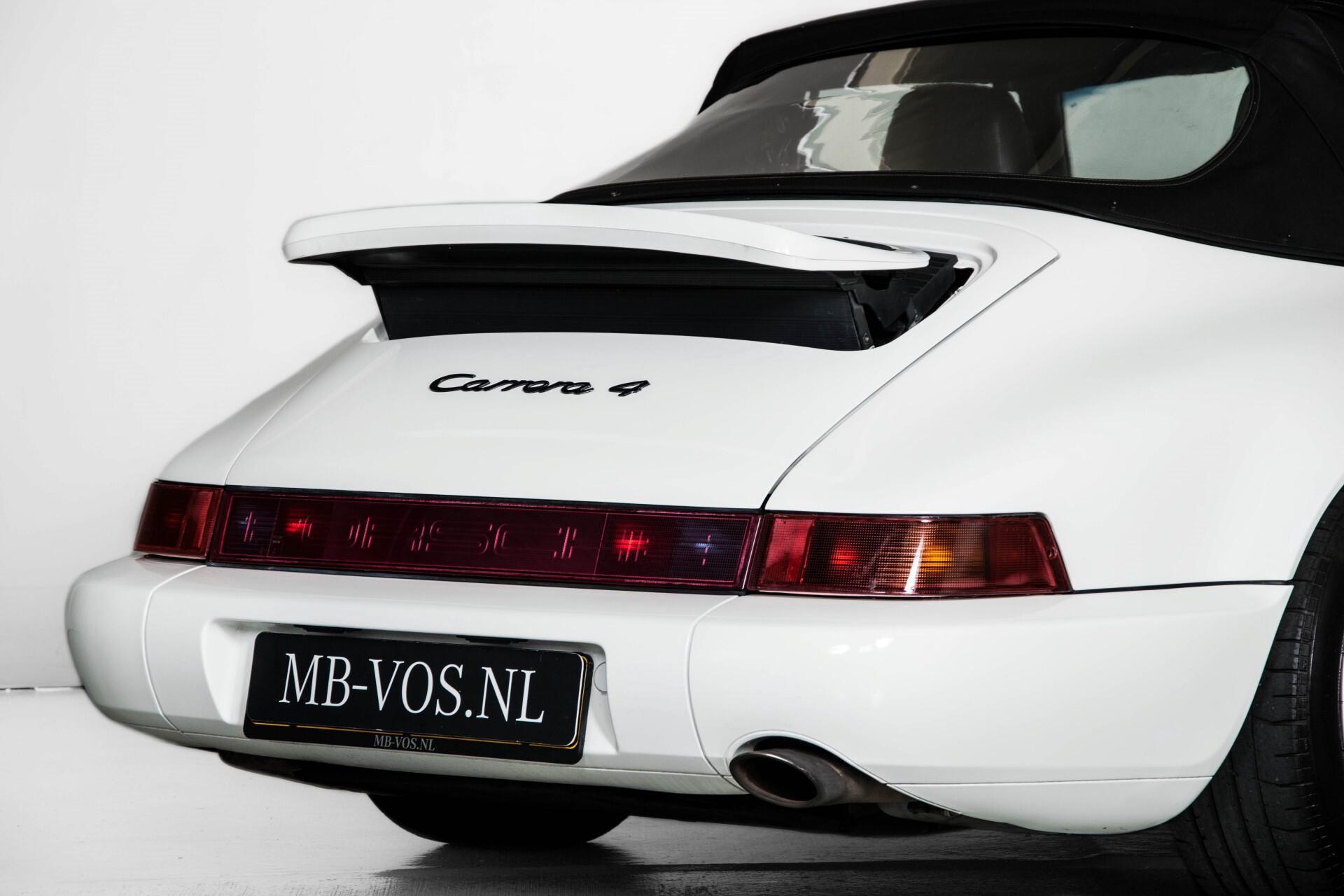 Porsche 911 Cabrio 964 3.6 Carrera 4 Gerestaureerd/Gedocumenteerd/Incl. BTW Foto 39
