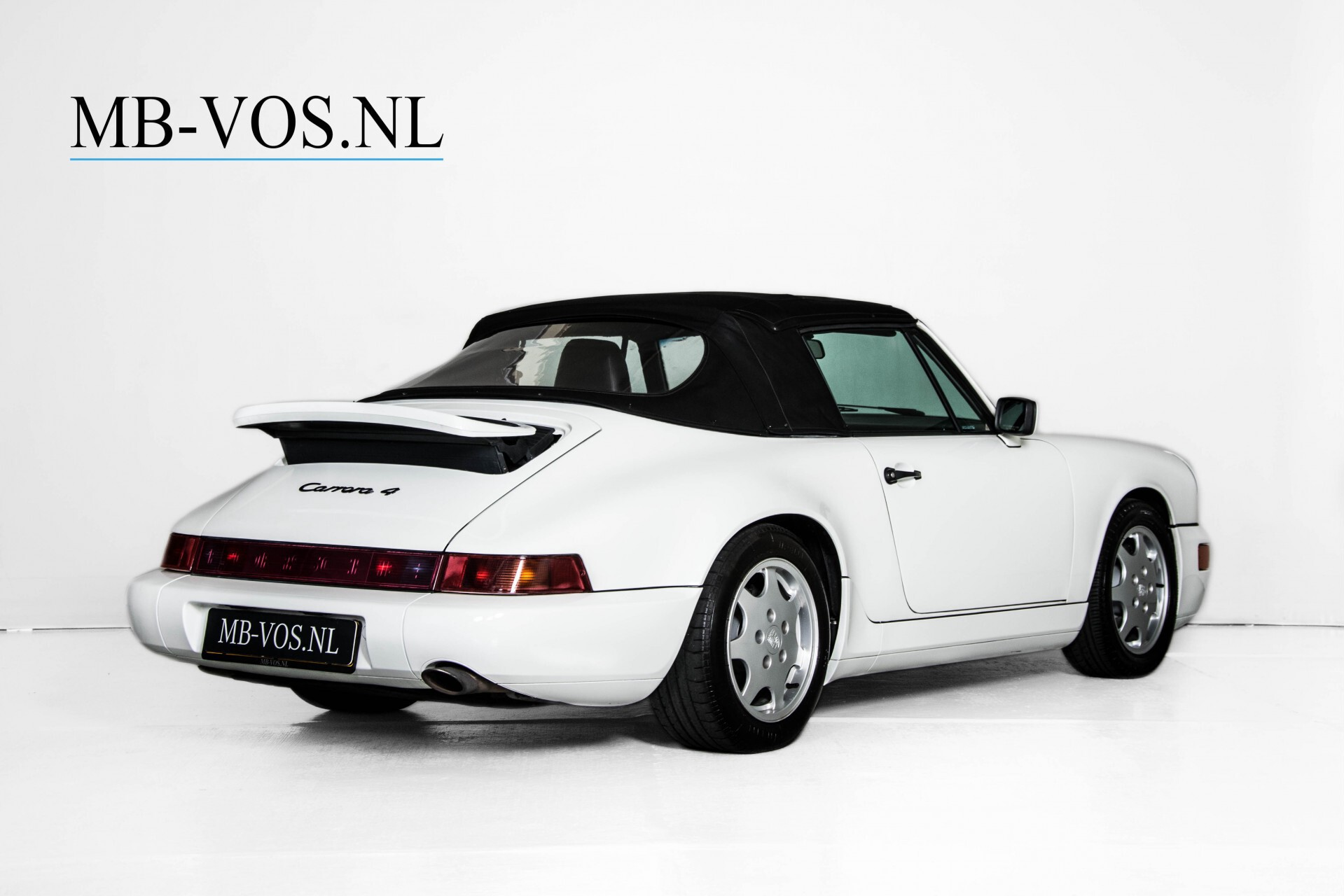 Porsche 911 Cabrio 964 3.6 Carrera 4 Gerestaureerd/Gedocumenteerd/Incl. BTW Foto 4