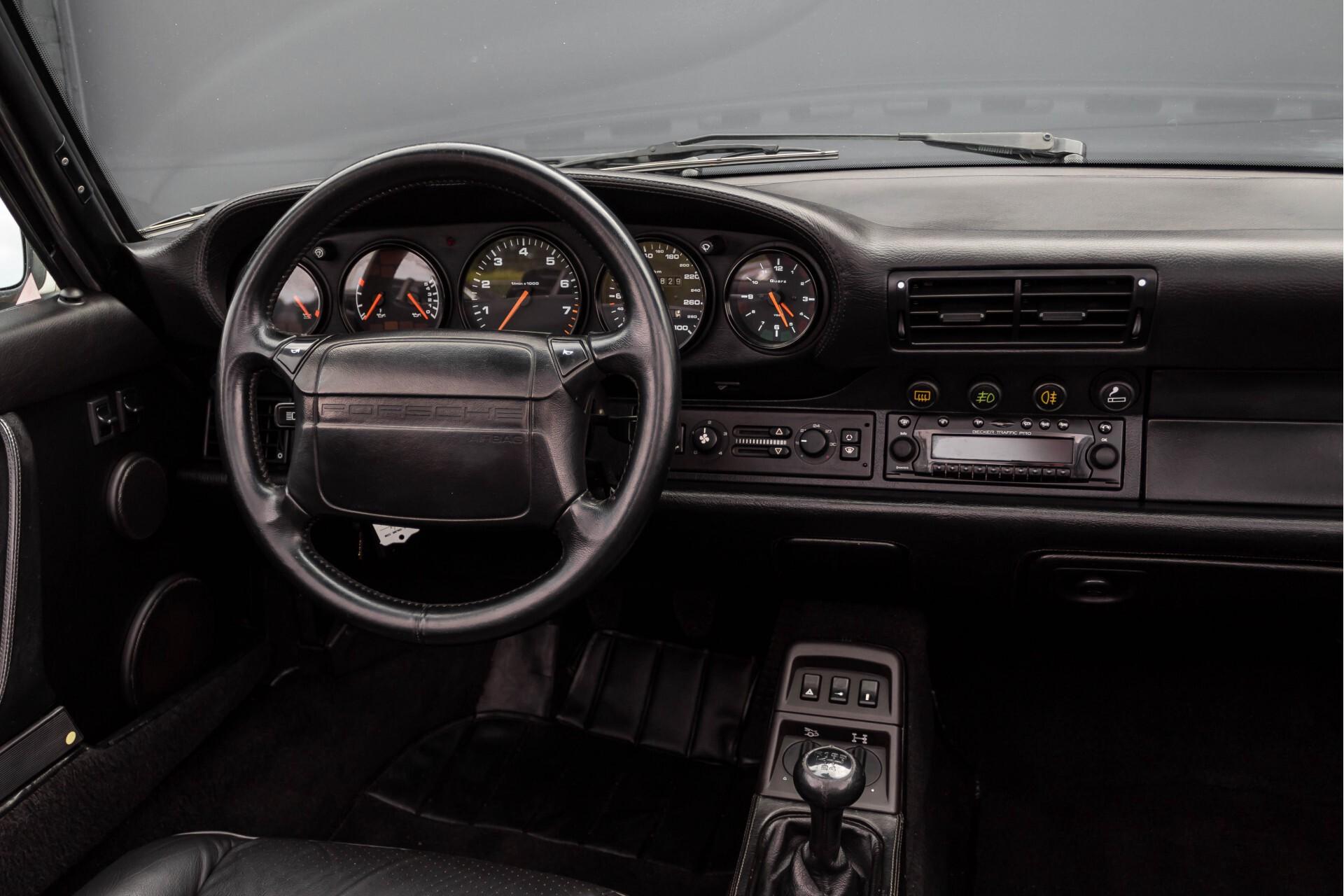 Porsche 911 Cabrio 964 3.6 Carrera 4 Gerestaureerd/Gedocumenteerd/Incl. BTW Foto 7