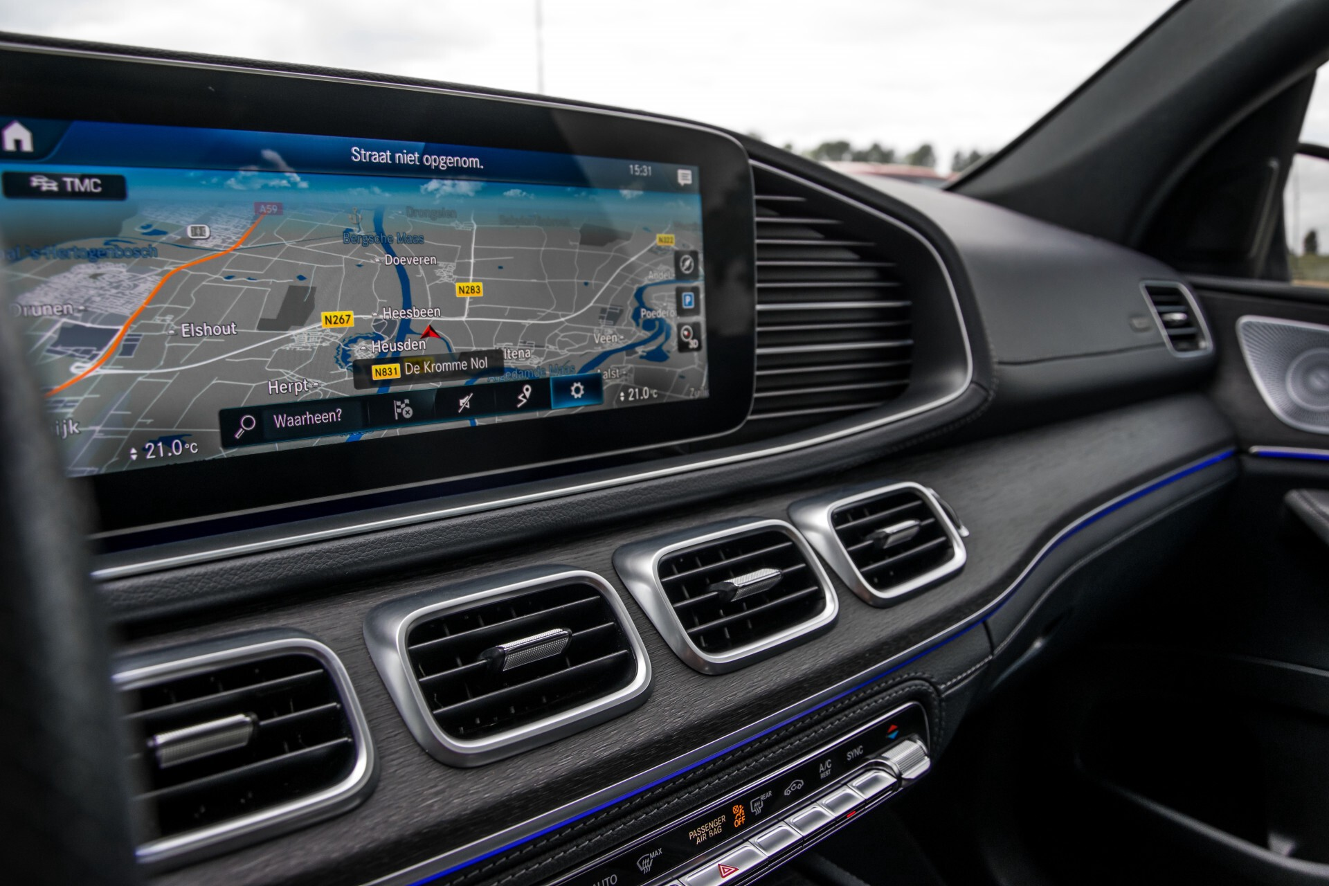 Mercedes-Benz GLE 400 d 4-M Luchtvering/Distronic/Keyless/HUD/Burmester/Nappa/360 camera/Panorama Aut9 Foto 22