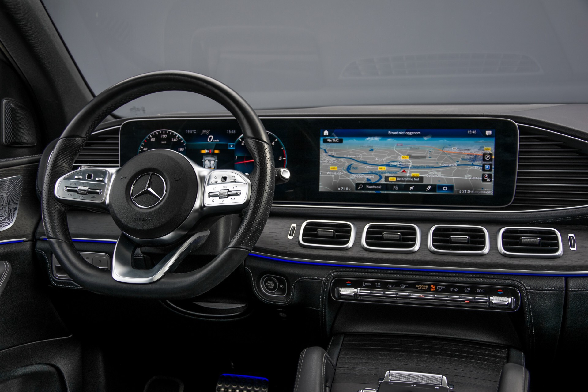 Mercedes-Benz GLE 400 d 4-M Luchtvering/Distronic/Keyless/HUD/Burmester/Nappa/360 camera/Panorama Aut9 Foto 7