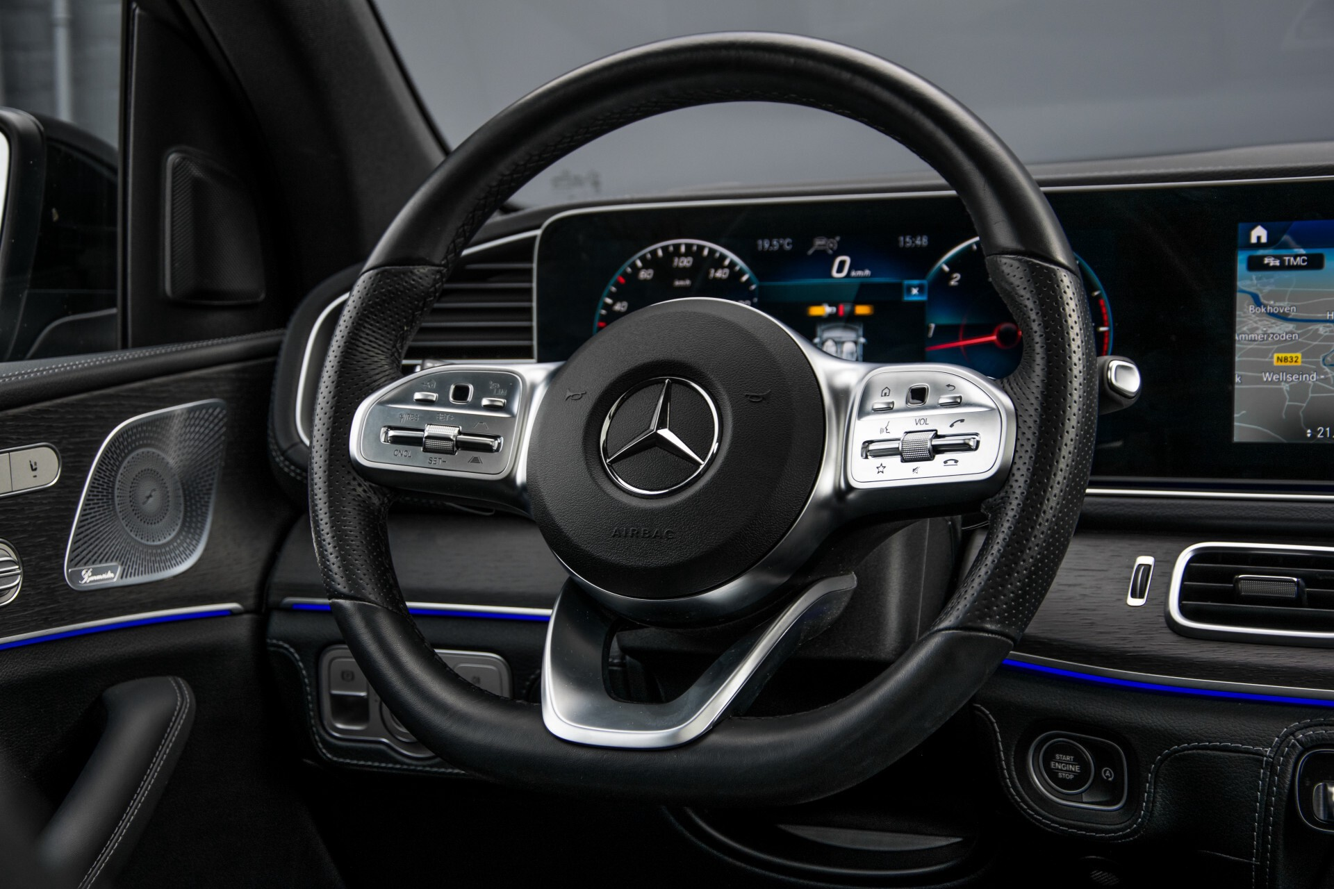 Mercedes-Benz GLE 400 d 4-M Luchtvering/Distronic/Keyless/HUD/Burmester/Nappa/360 camera/Panorama Aut9 Foto 9