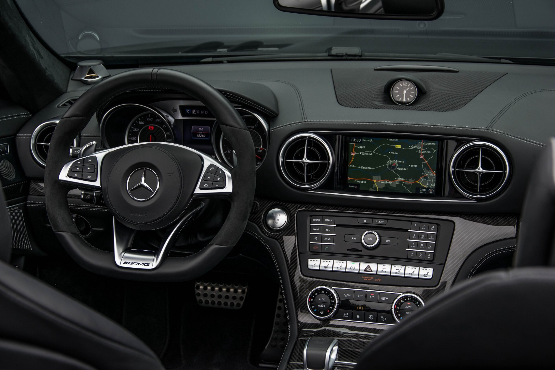 Mercedes-Benz SL-Klasse 63 AMG Keramisch/Bang & Olufsen/Designo/Carbon/Drivers Package Aut7 Foto 7