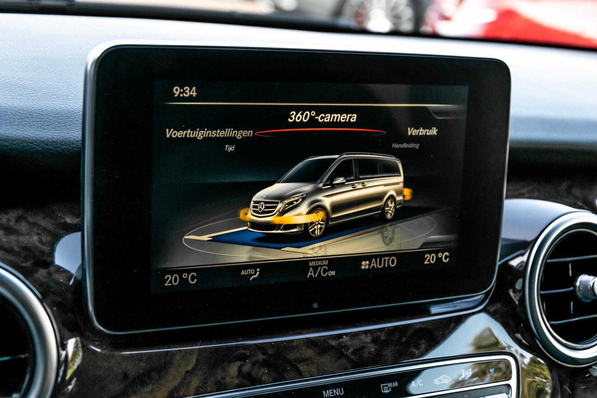 Mercedes-Benz V-Klasse 220d Extra Lang 8-Persoons Avantgarde Edition Burmester/360camera/spoorpakket/ILS Aut7 Foto 42